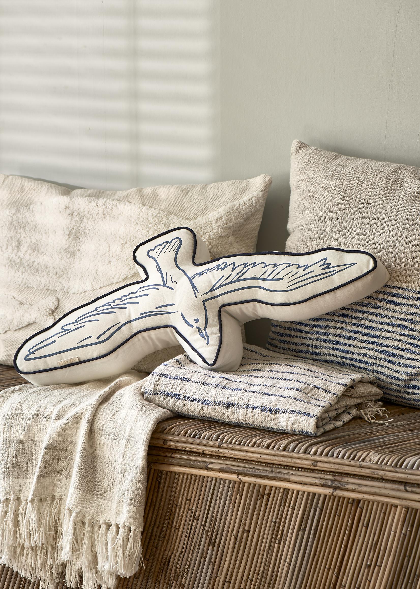 Riviera Maison Seagull Box Pillow
