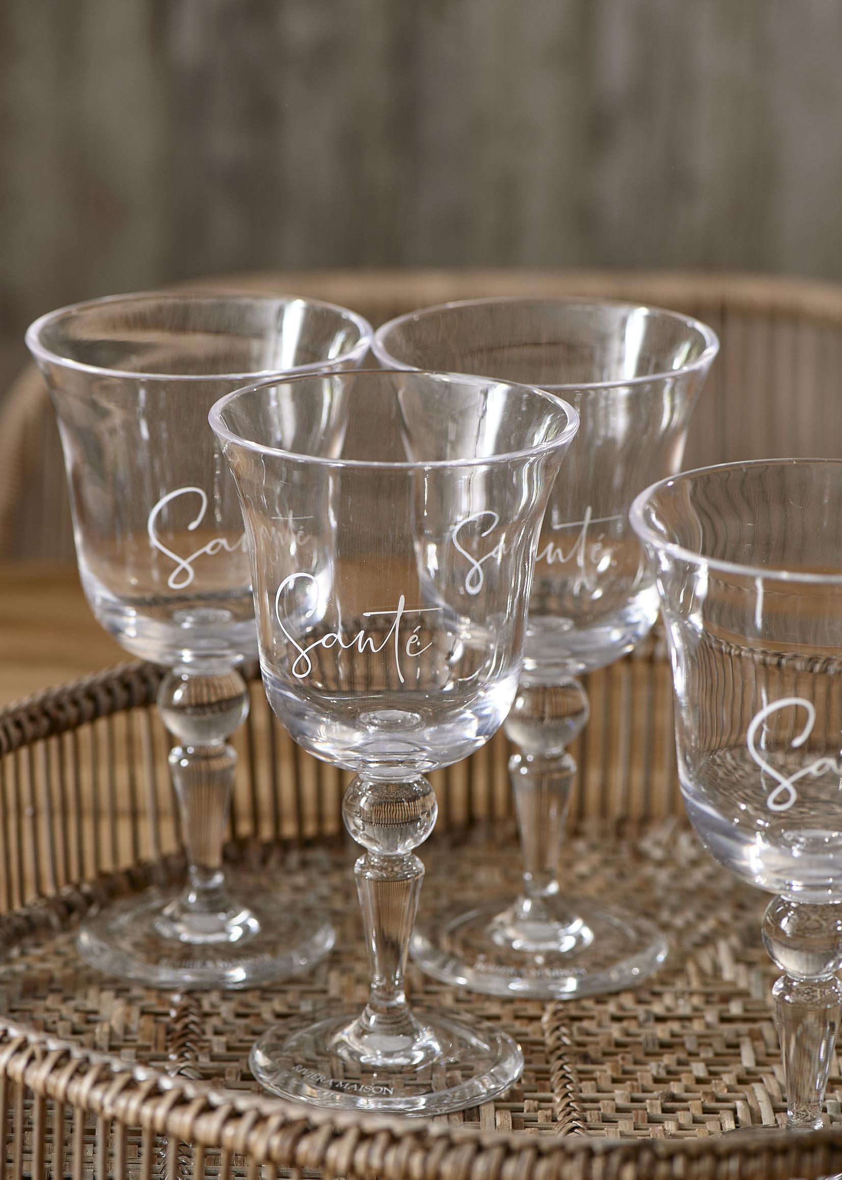 Riviera Maison Cheers To Summer Wine Glass