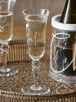 Riviera Maison Cheers To Summer Champagne Glass