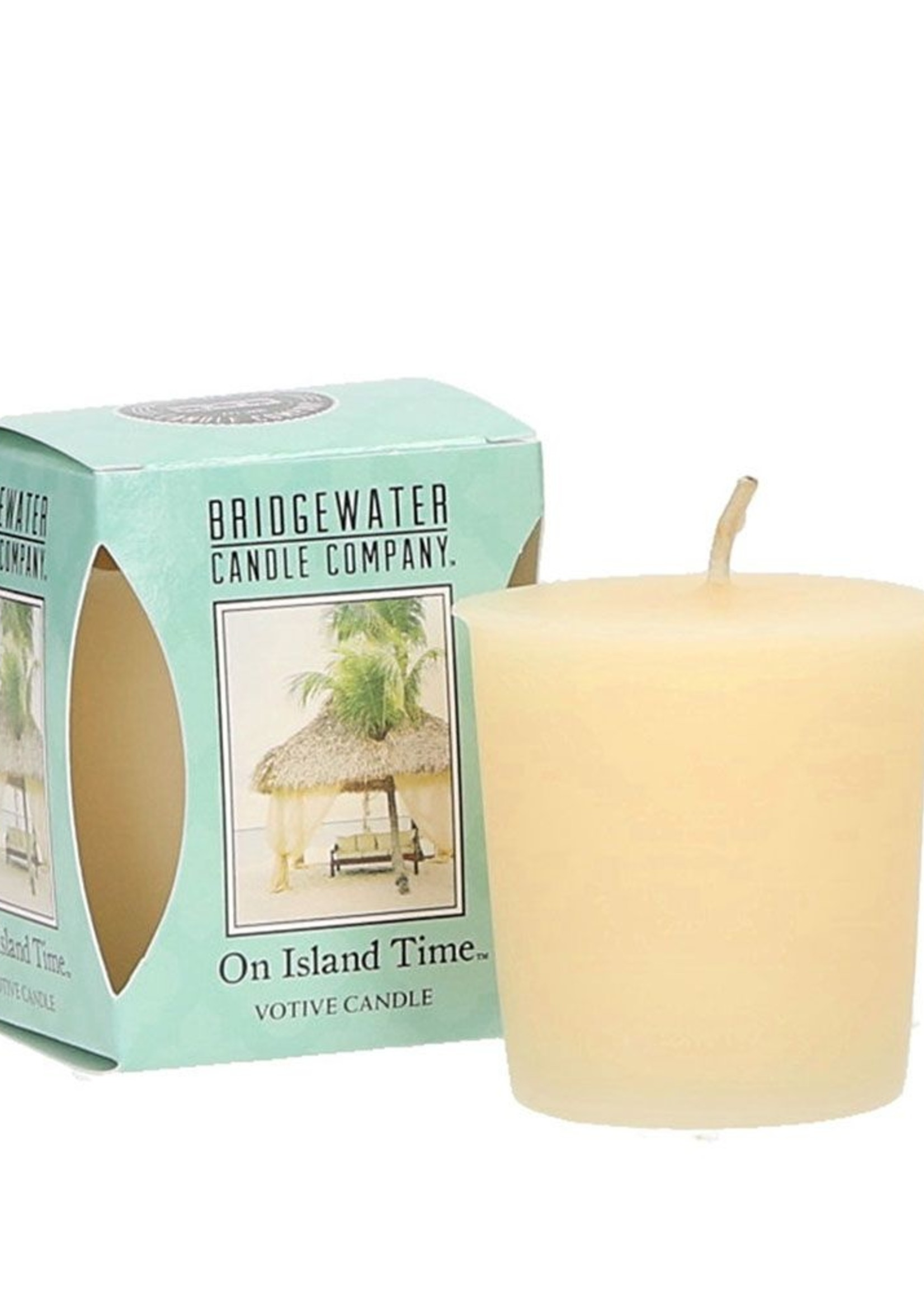 Bridgewater Votive Candle on Island Time