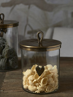 Riviera Maison Food Lovers Metal Storage Jar M