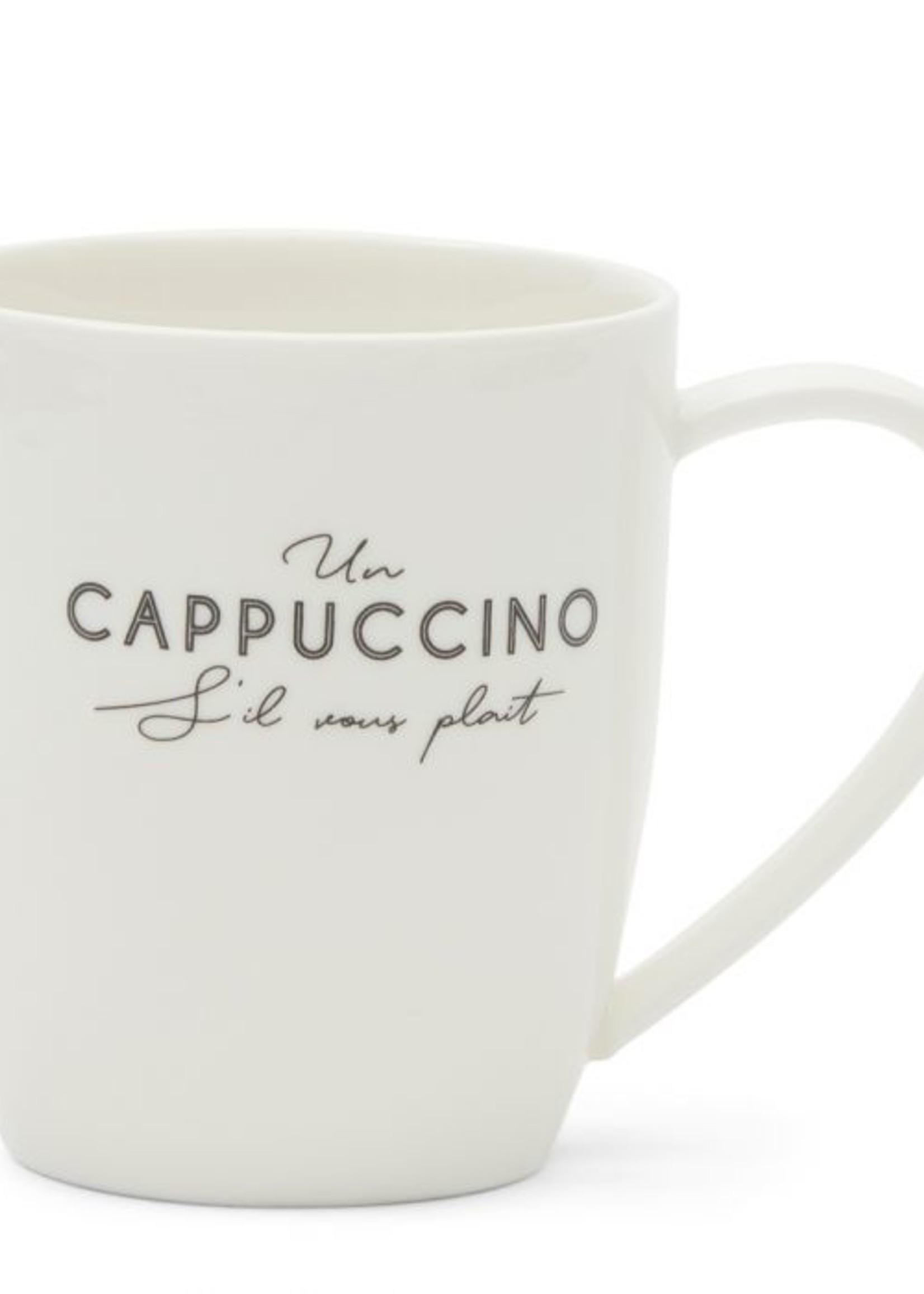 Riviera Maison S'il Vous Plaît Cappuccino Mug