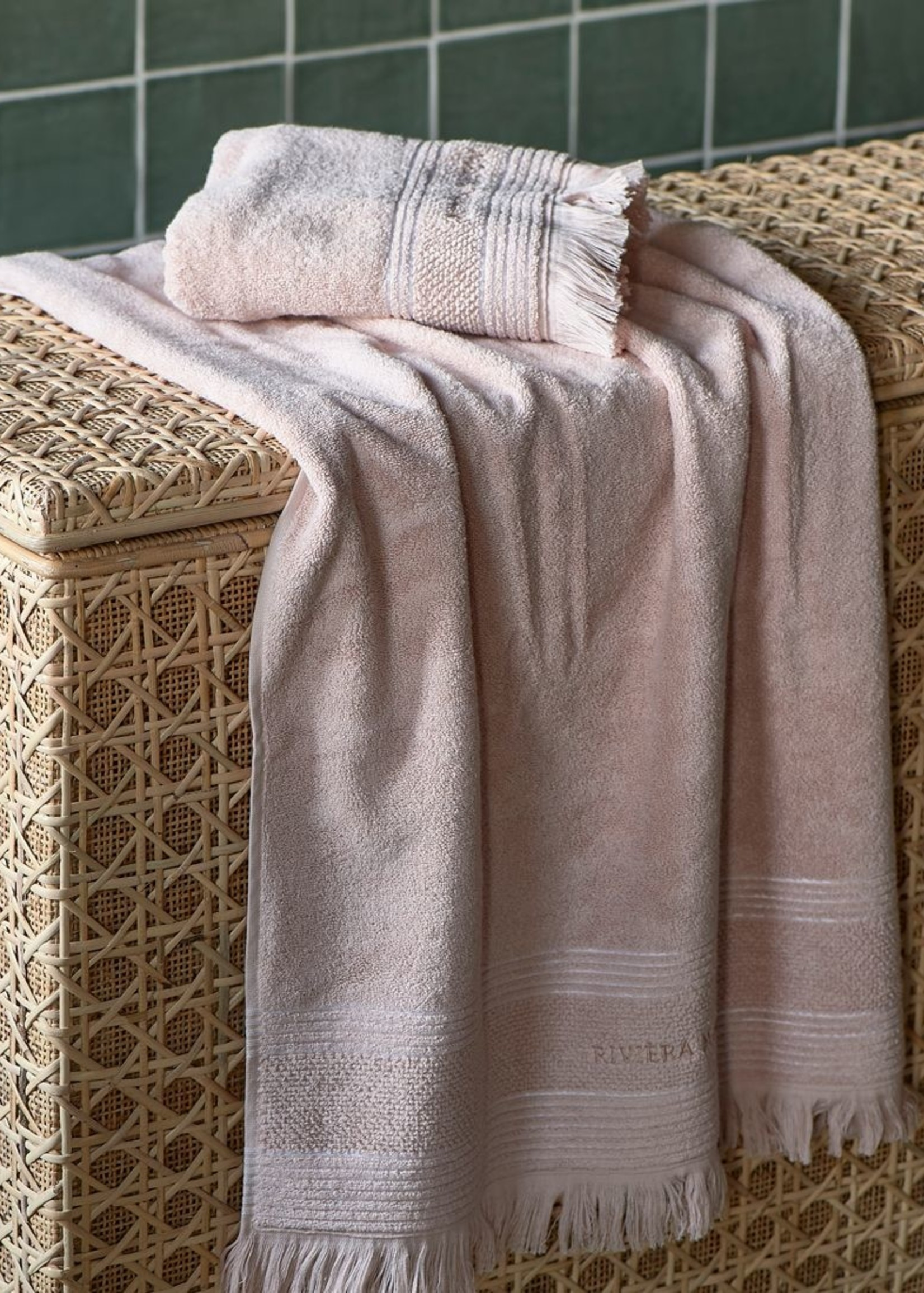 Riviera Maison Serene Towel blossom 140x70