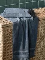Riviera Maison Serene Towel anthracite 100x50