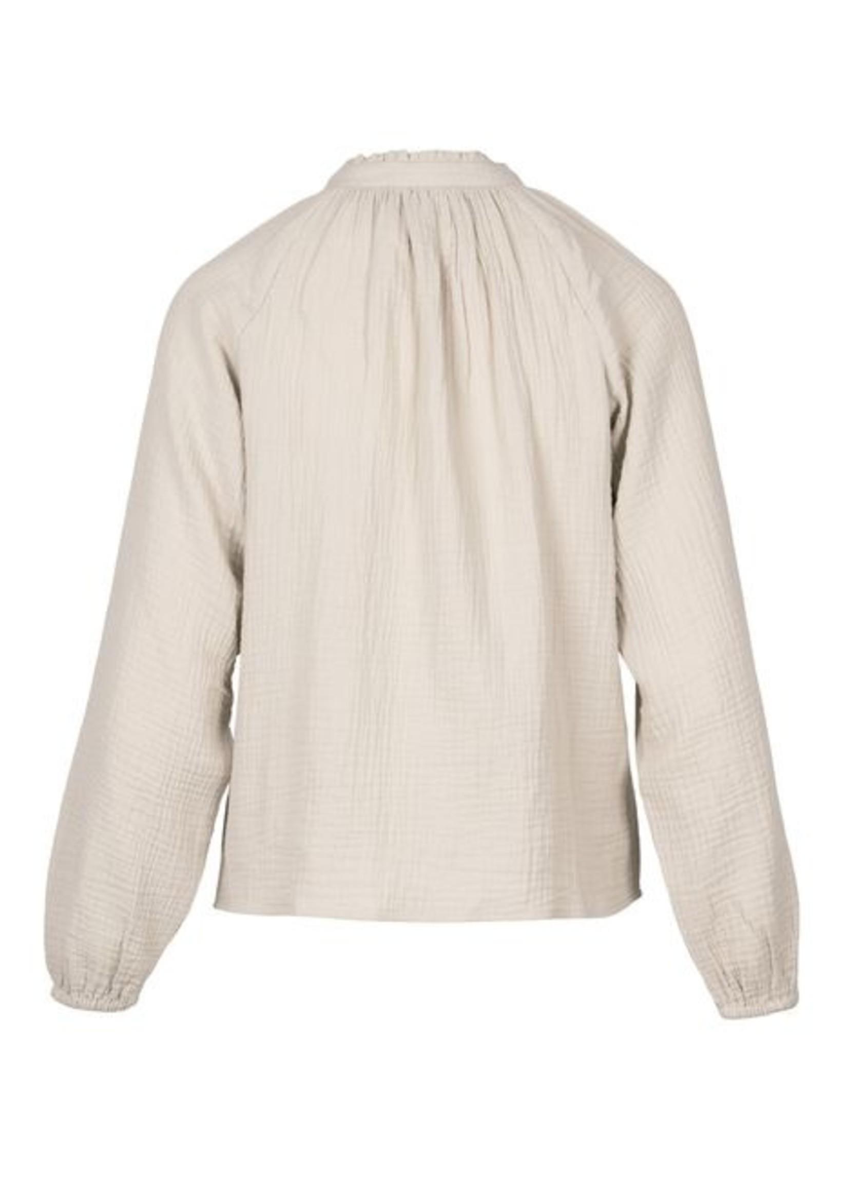 Zusss Fijn blouseje Ecru