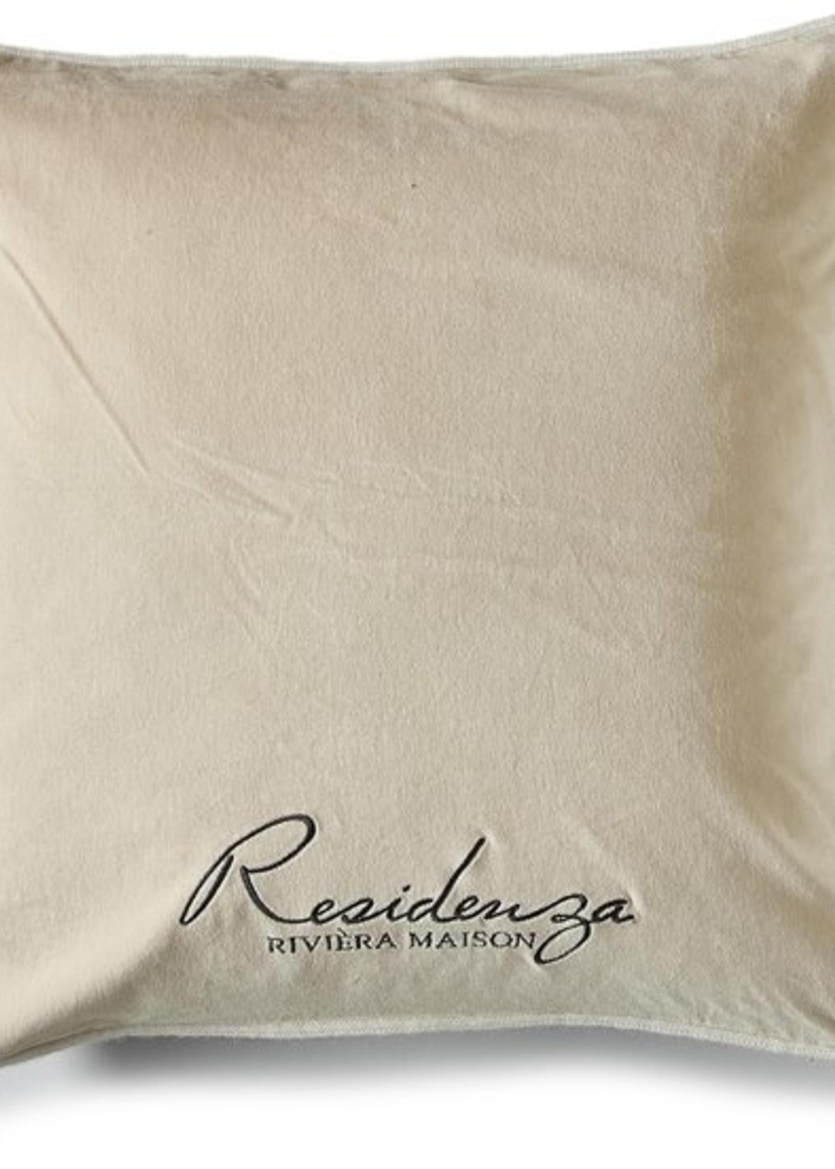 Riviera Maison Residenza Velvet pillow cover