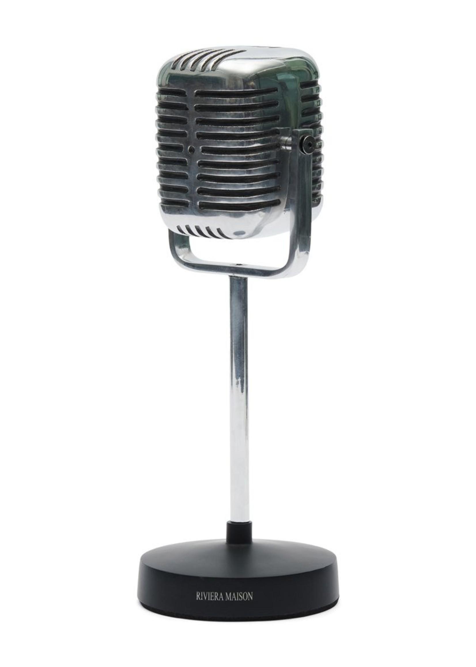 Riviera Maison RM Microphone Statue