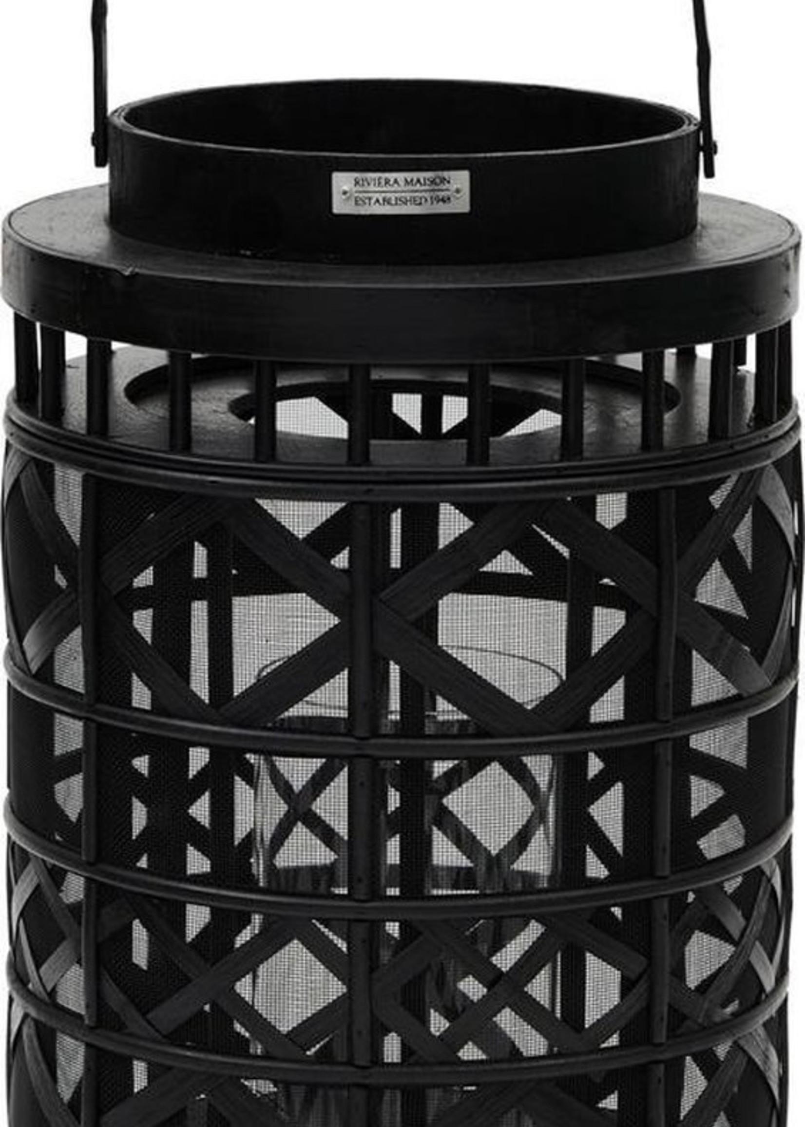 Riviera Maison New Hampshire Lantern S black