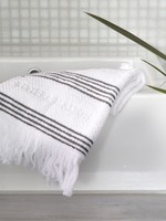 Riviera Maison Serene Guest Towel white 50x30