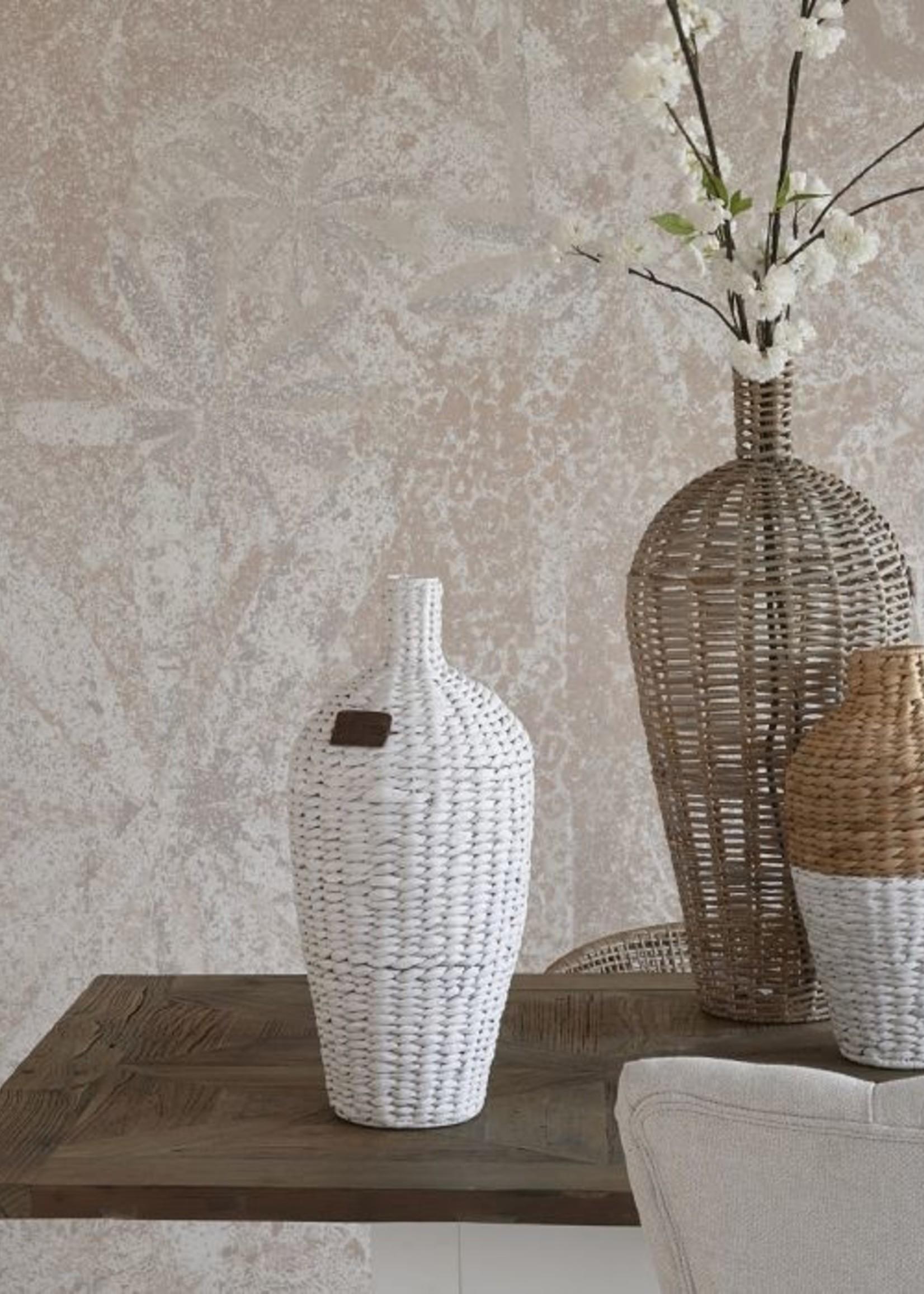 Riviera Maison RM Water Hyacinth Vase white