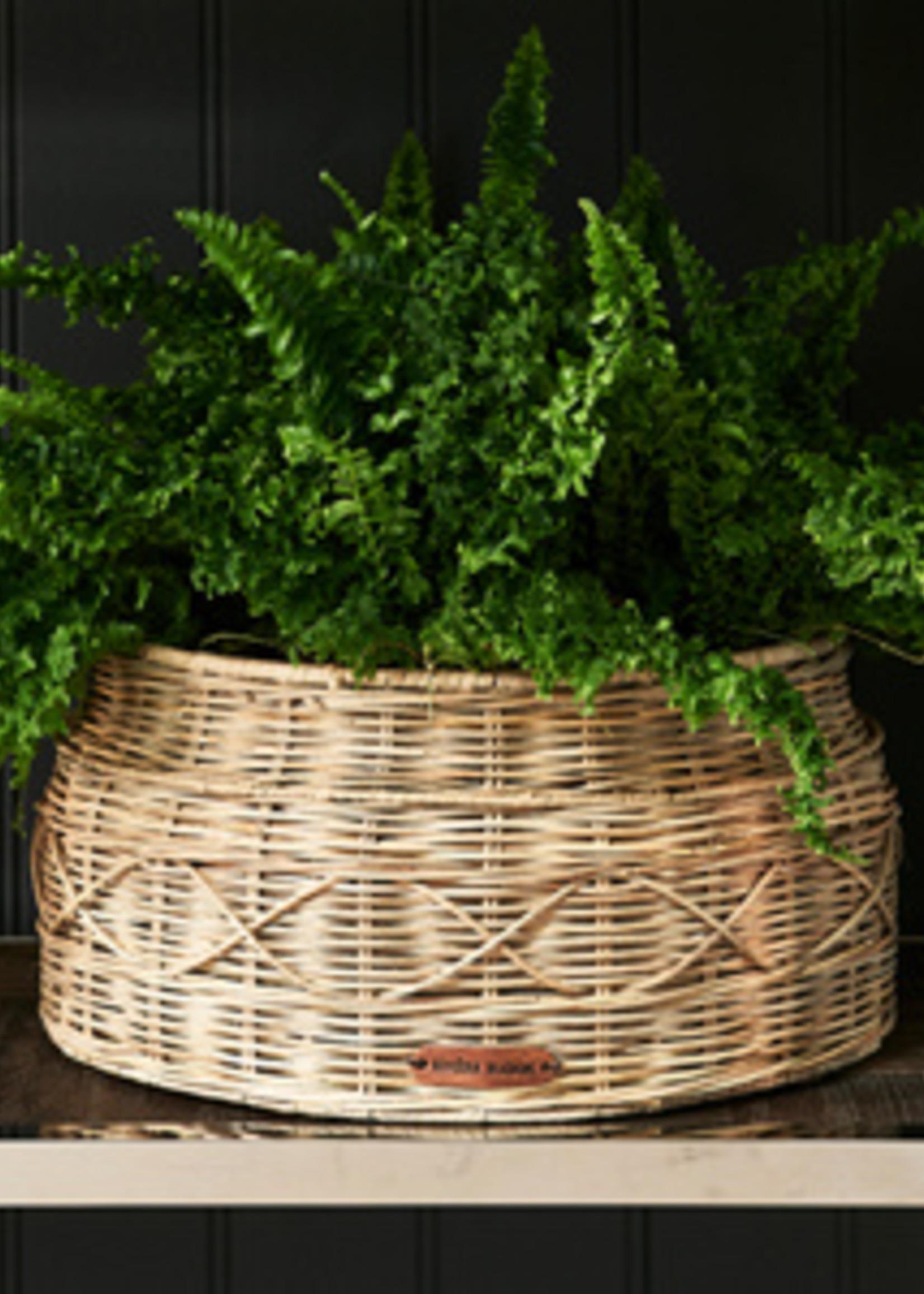 Riviera Maison Rustic Rattan Classic Planter Round