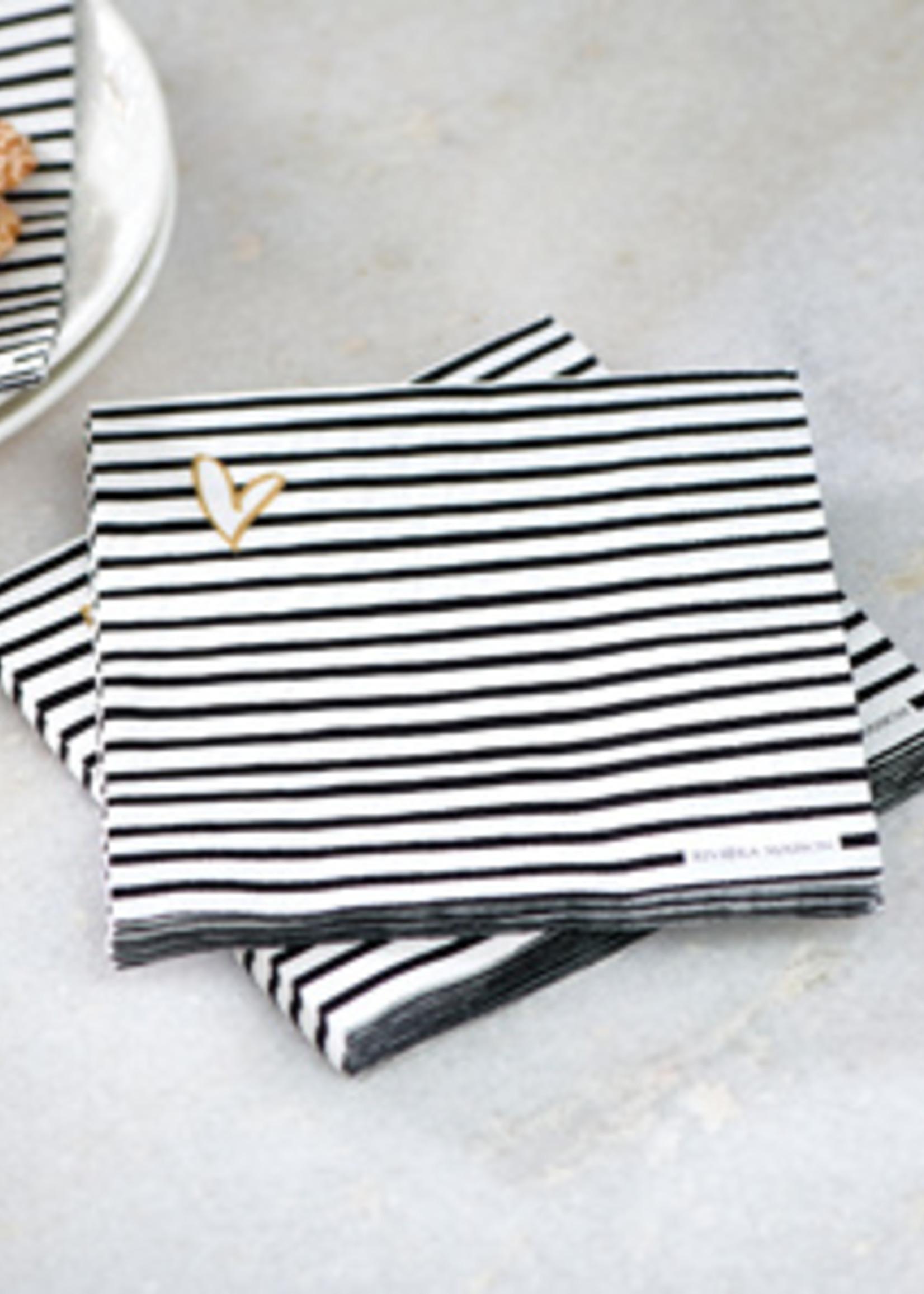 Riviera Maison Paper Napkin RM Dots & Stripes