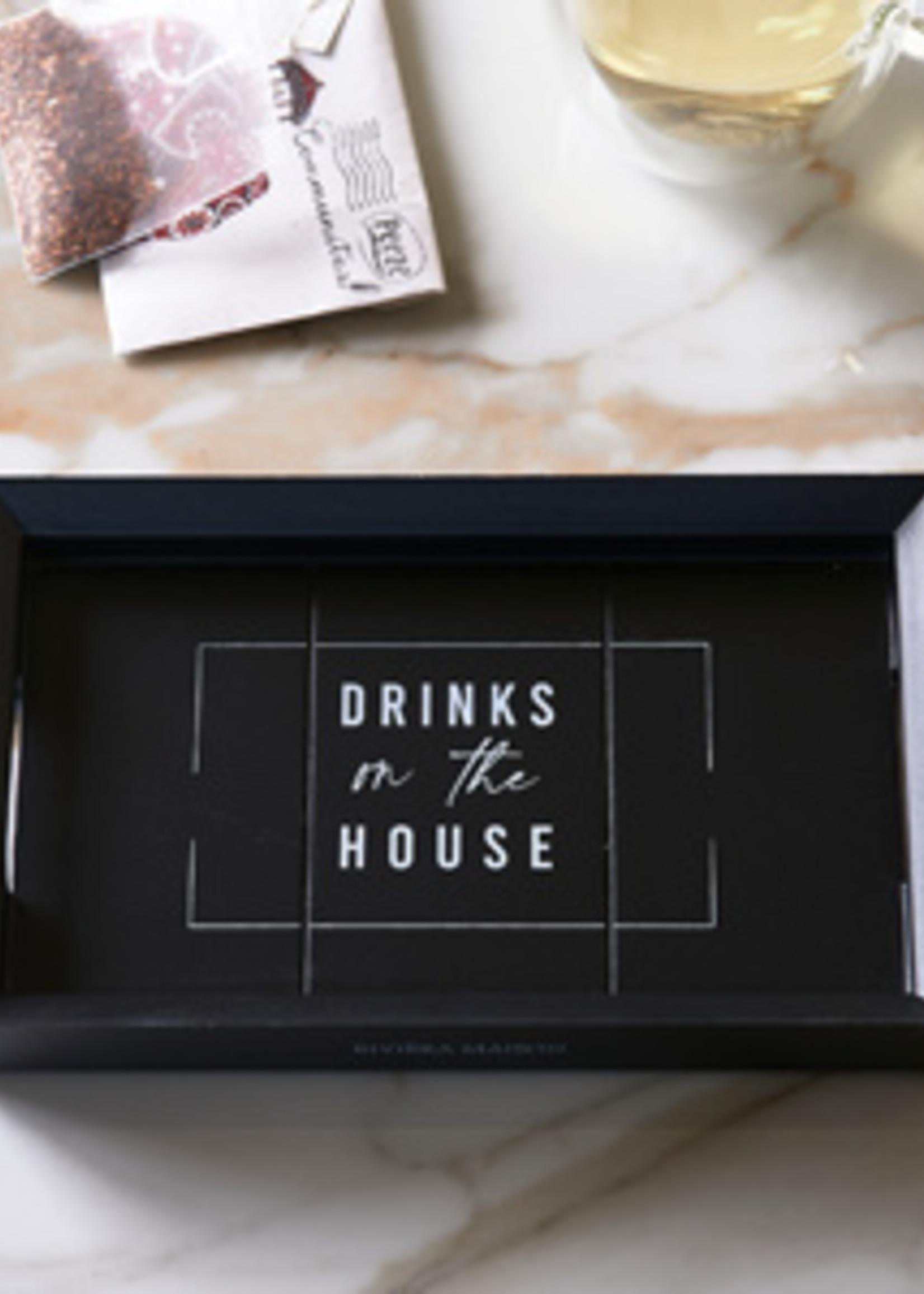 Riviera Maison Drinks On The House Mini Tray 19x12