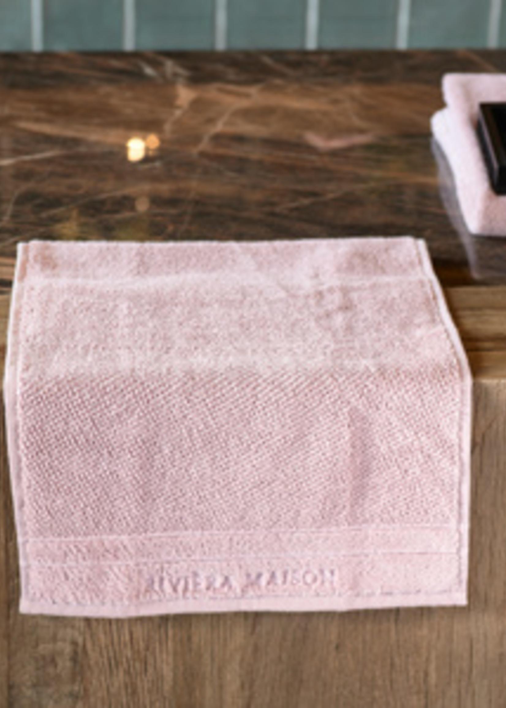 Riviera Maison RM Elegant Guest Towel mauve 50x30