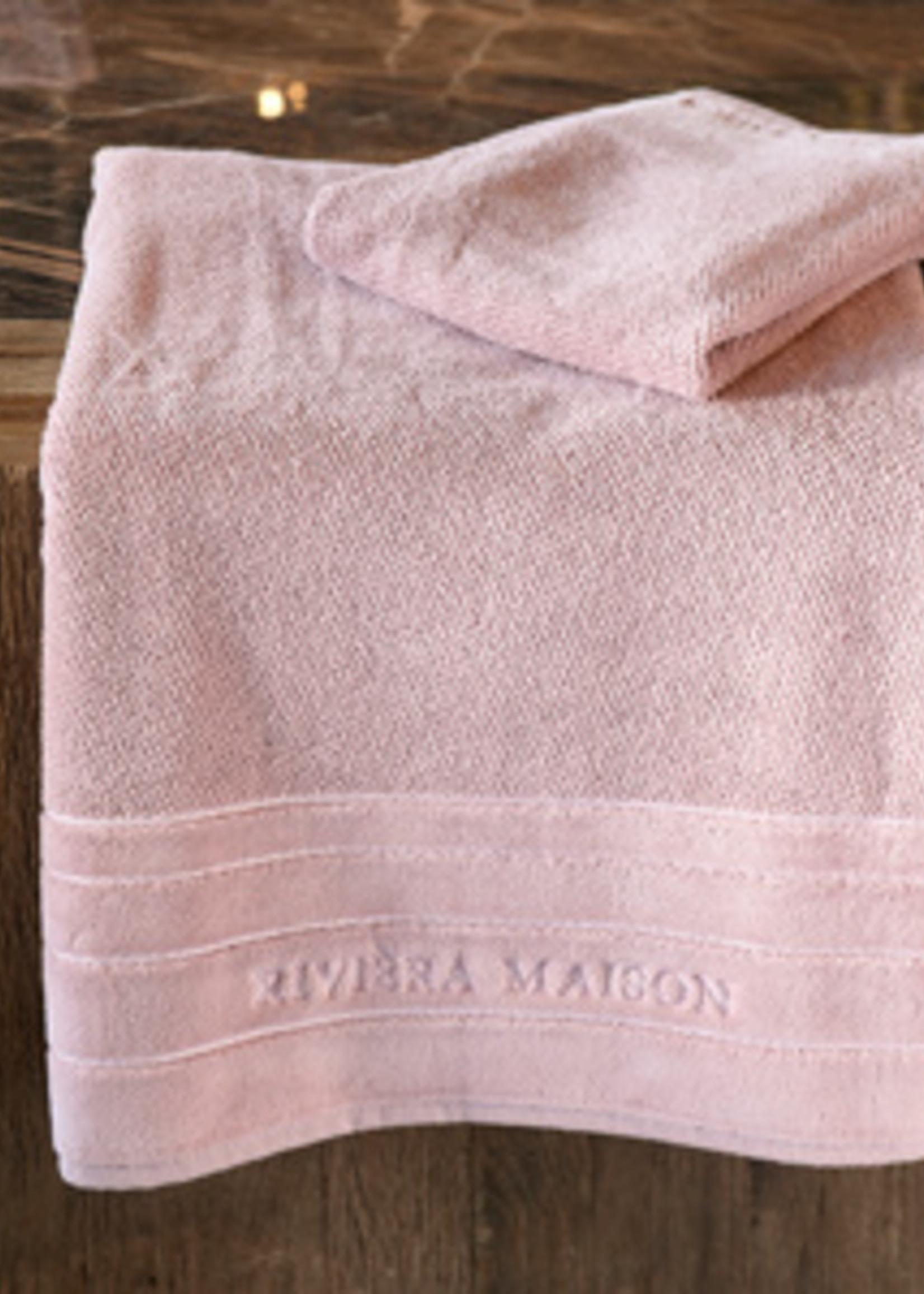 Riviera Maison RM Elegant Towel mauve 140x70