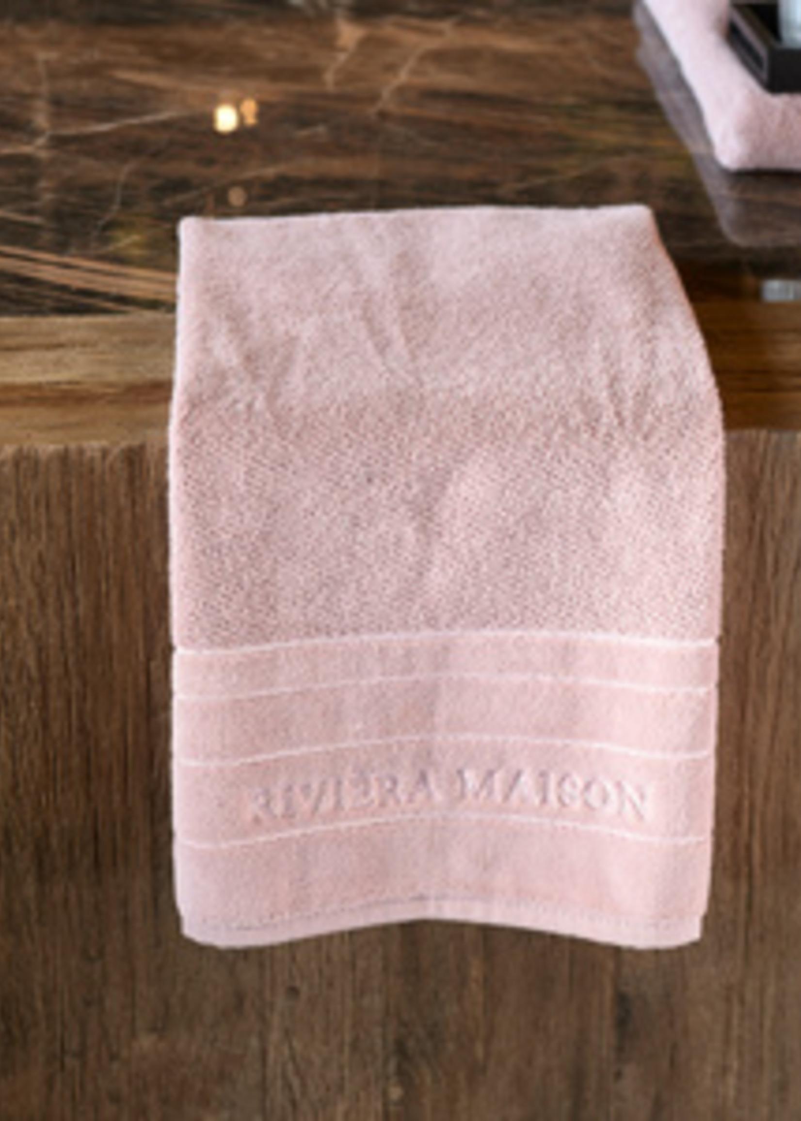 Riviera Maison RM Elegant Towel mauve 100x50