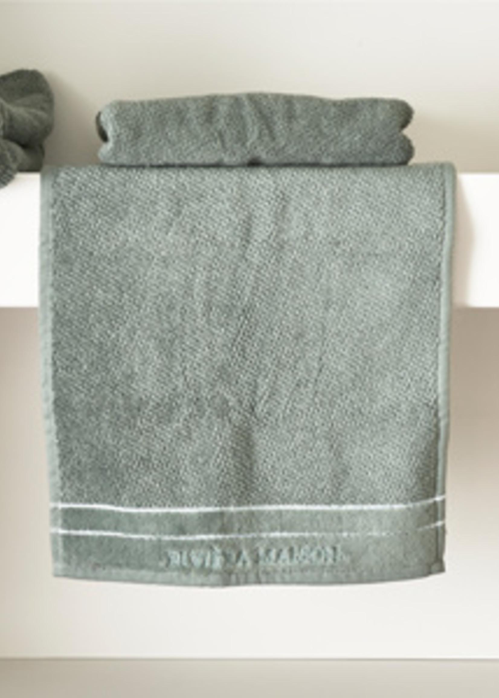 Riviera Maison RM Elegant Guest Towel moss 50x30