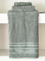Riviera Maison RM Elegant Towel moss 140x70