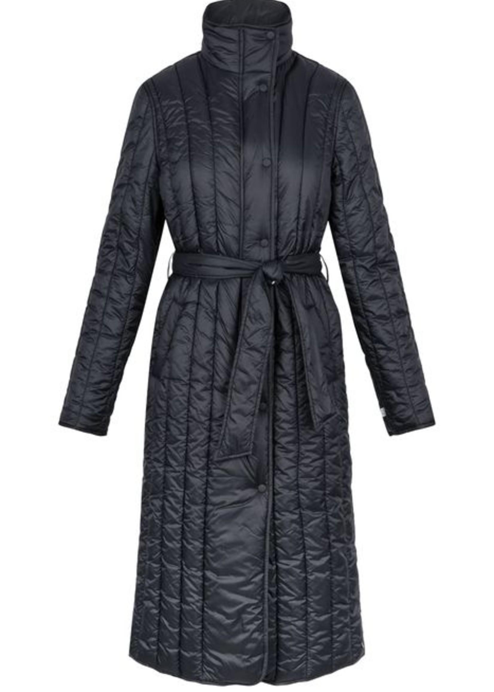 Zusss Gewatteerde Winterjas Zwart L