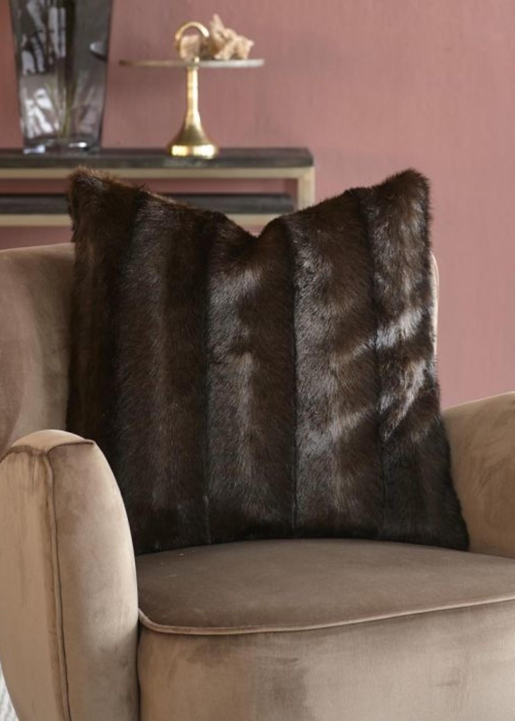 Riviera Maison Vintage Faux Fur Pillow Cover 50x50