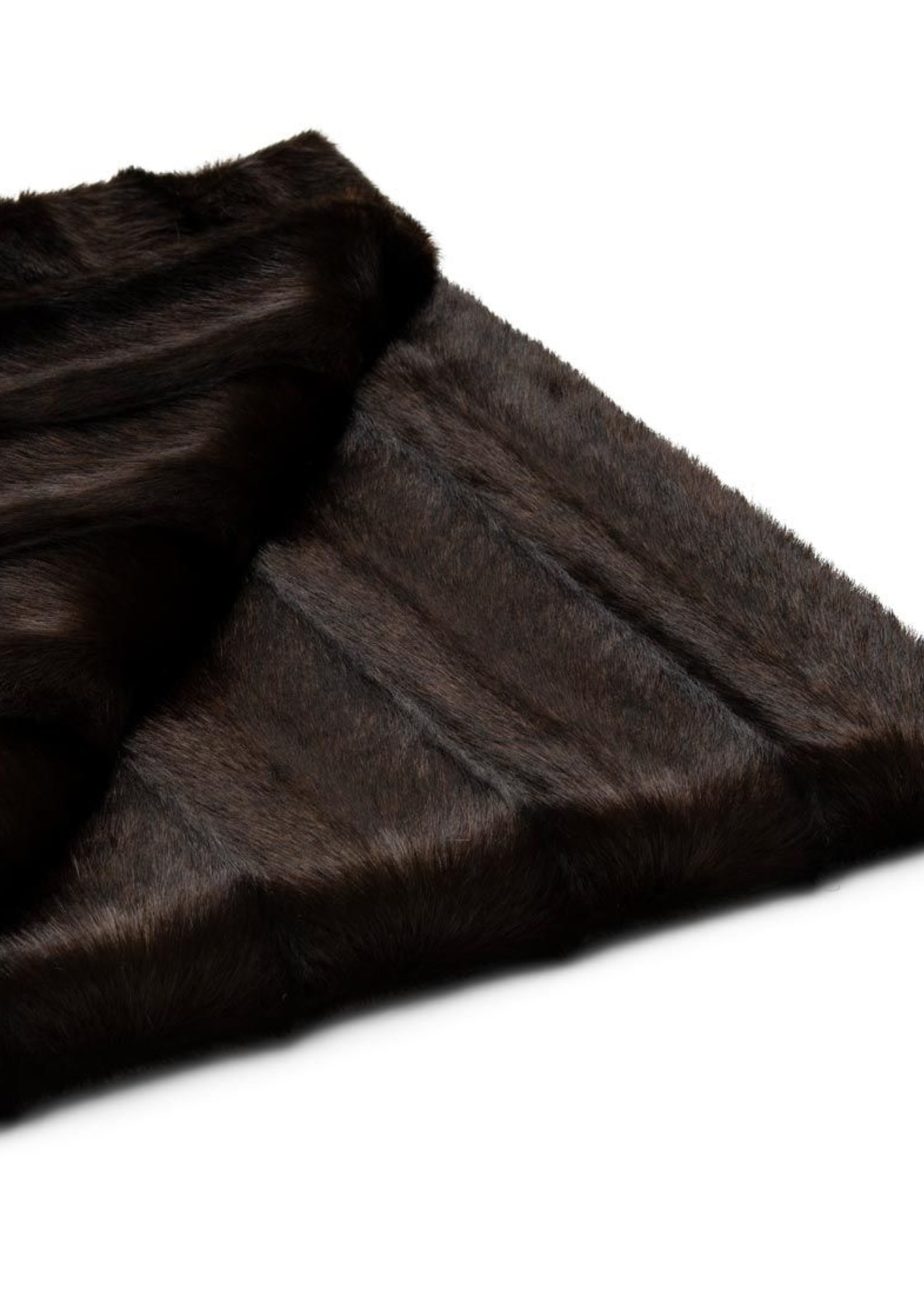 Riviera Maison Vintage Faux Fur Throw 170x130