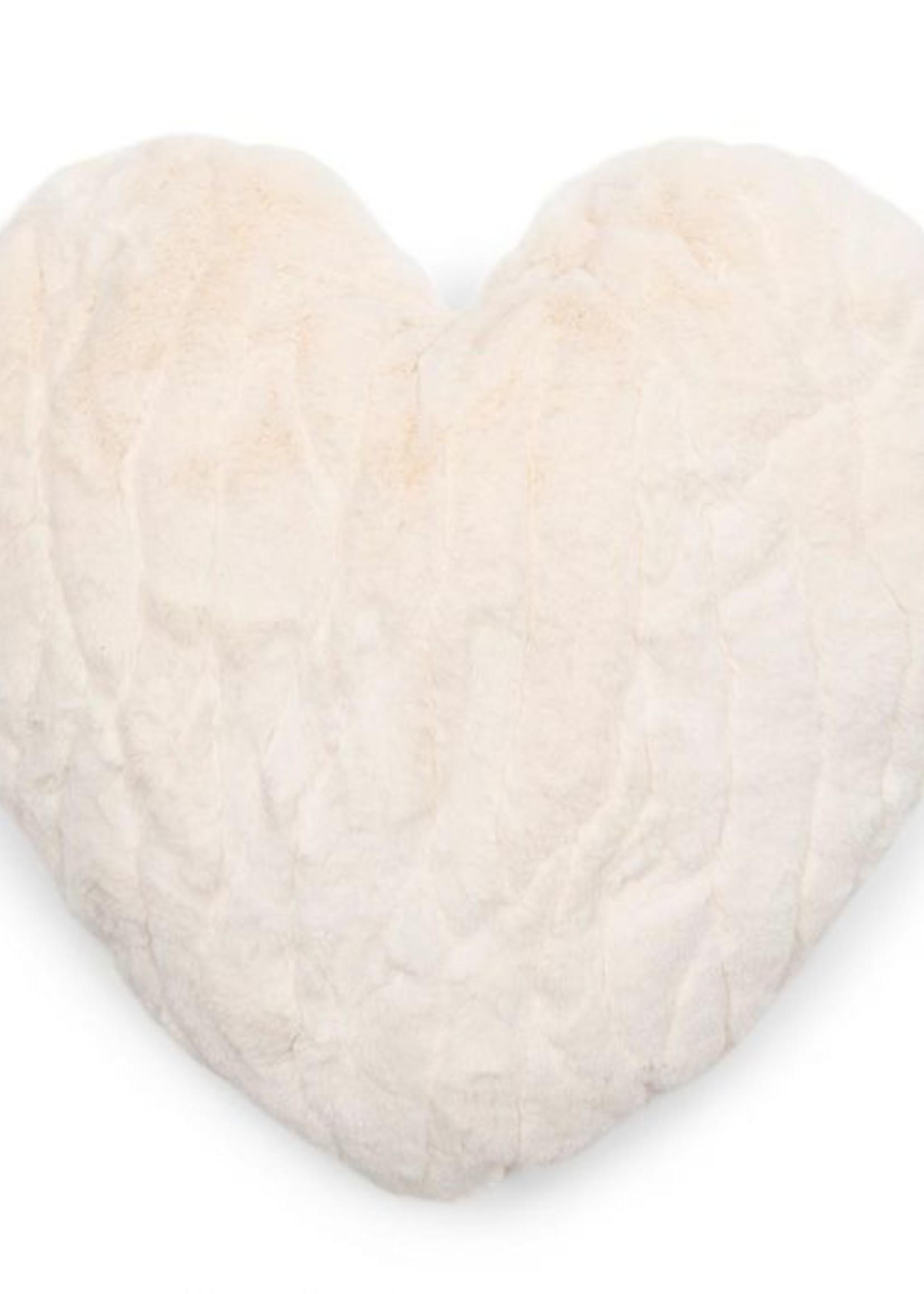 Riviera Maison Faux Fur Heart Box Pillow