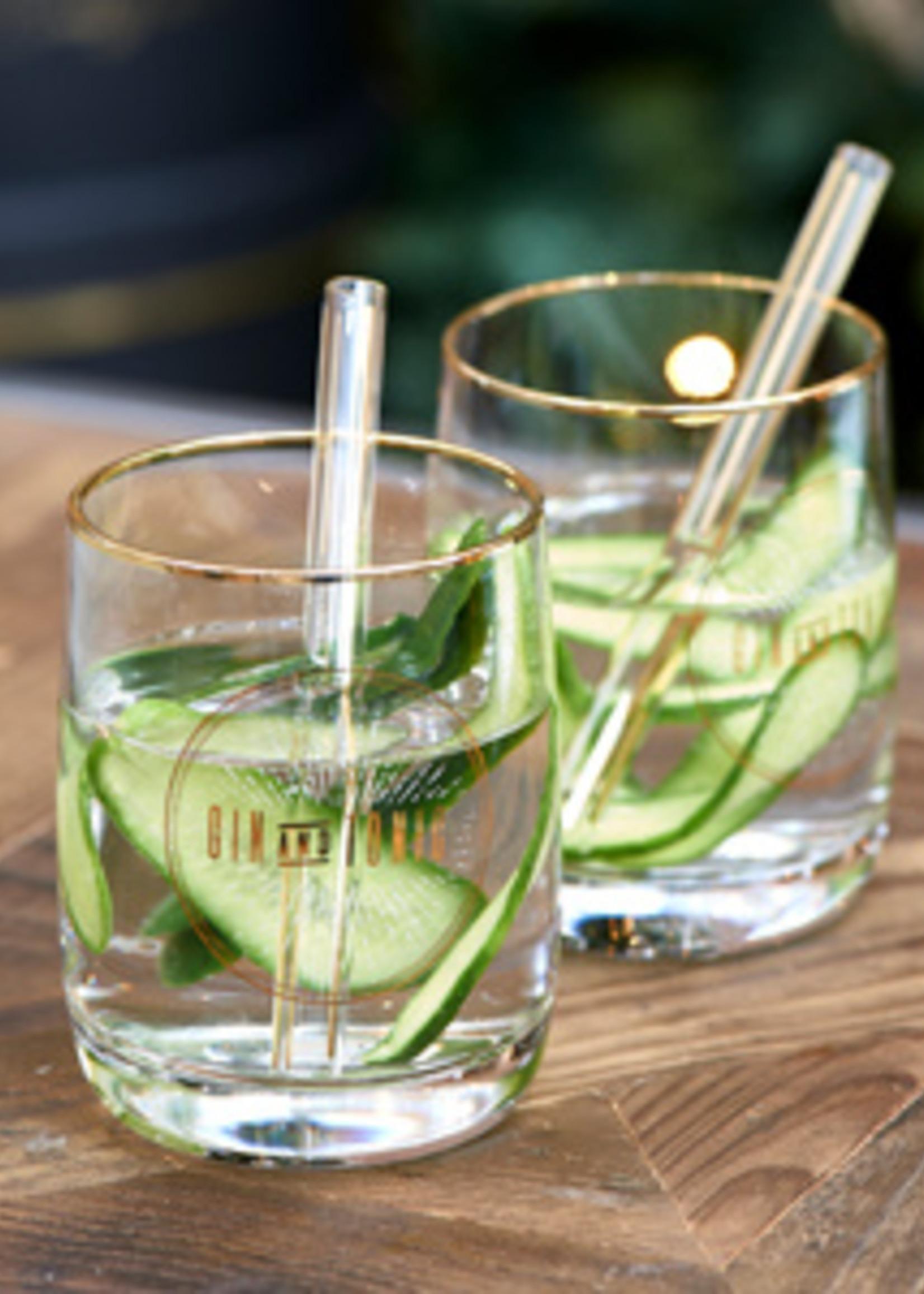 Riviera Maison Le Club Gin & Tonic Set Of 2 pieces