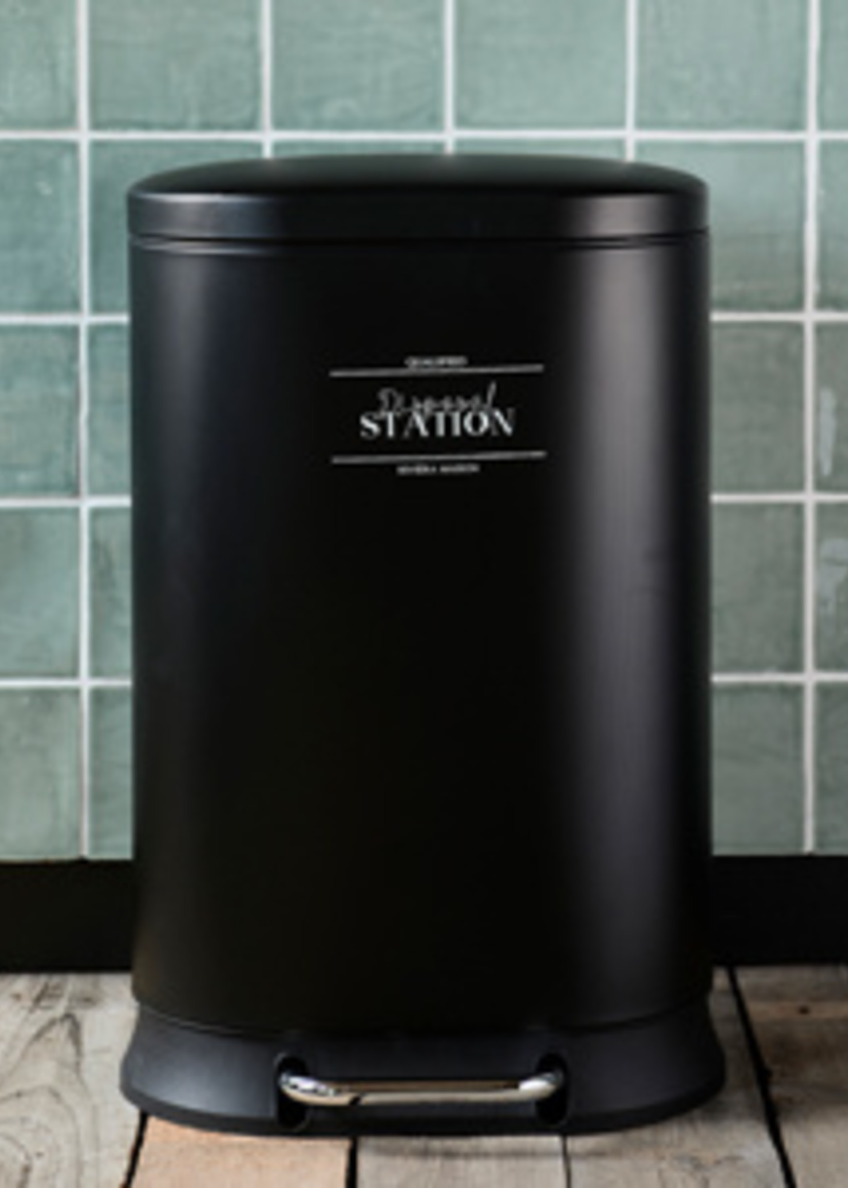 Riviera Maison RM Disposal Station Waste Bin L