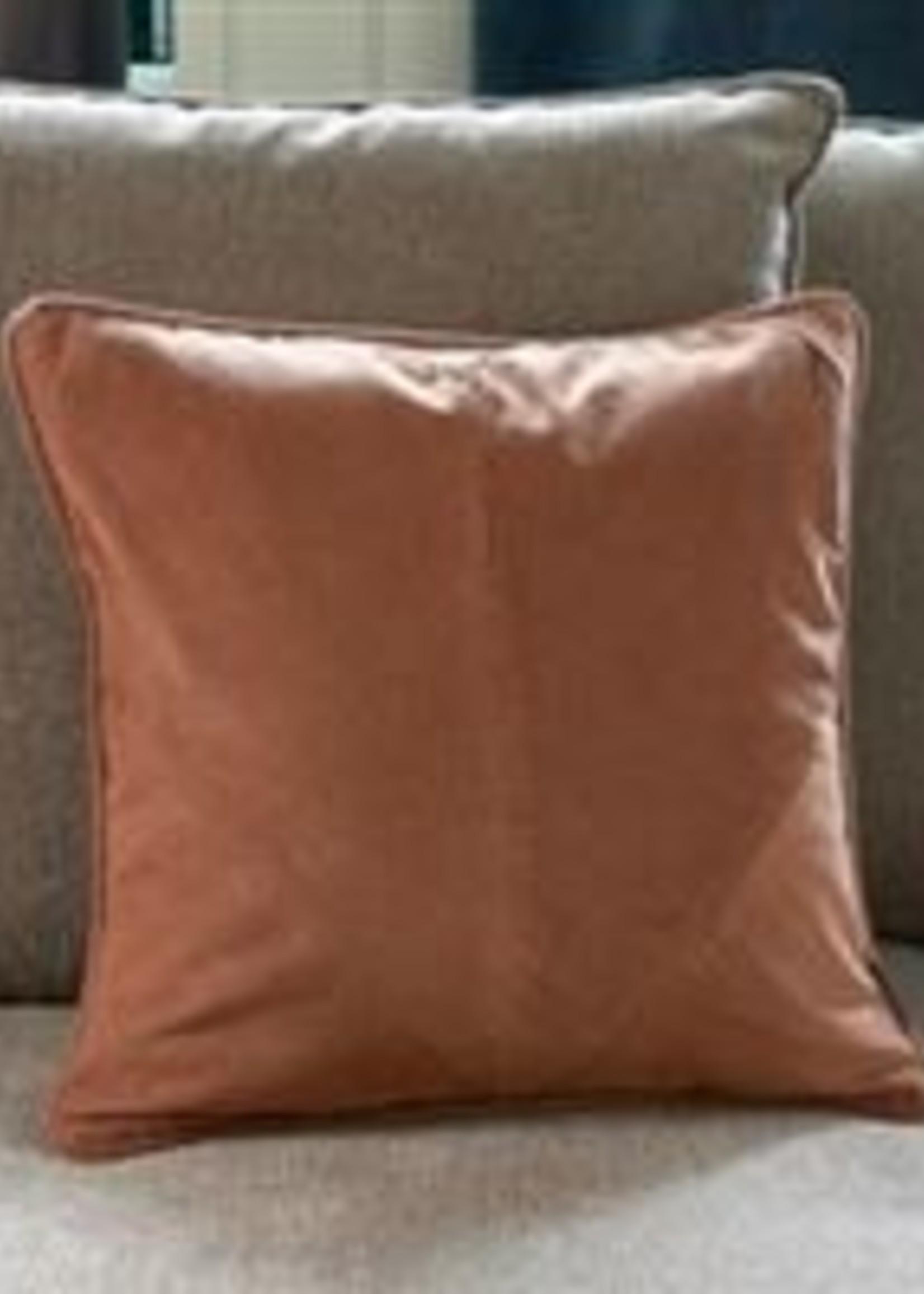 Riviera Maison Purity Rib Heart Pillow Cover 50x50