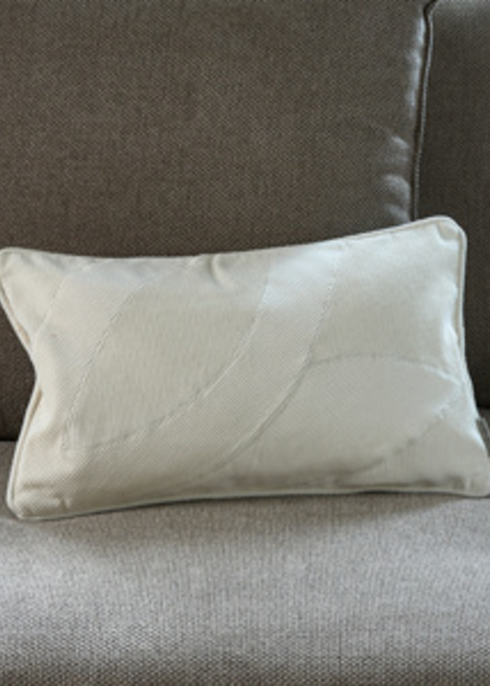 Riviera Maison Purity Rib Leave Pillow Cover 50x30