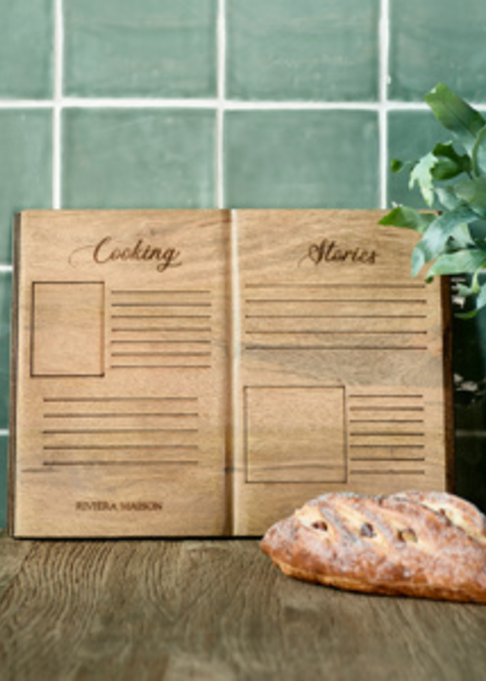 Riviera Maison Cooking Stories Chopping Board M