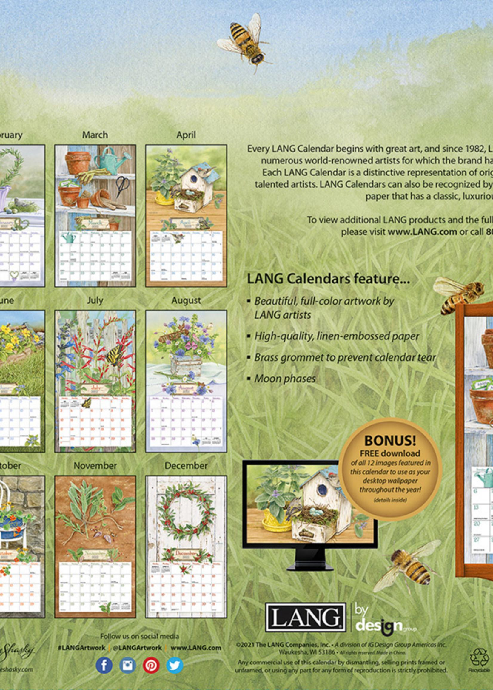 Herb Garden  Calendar 2022