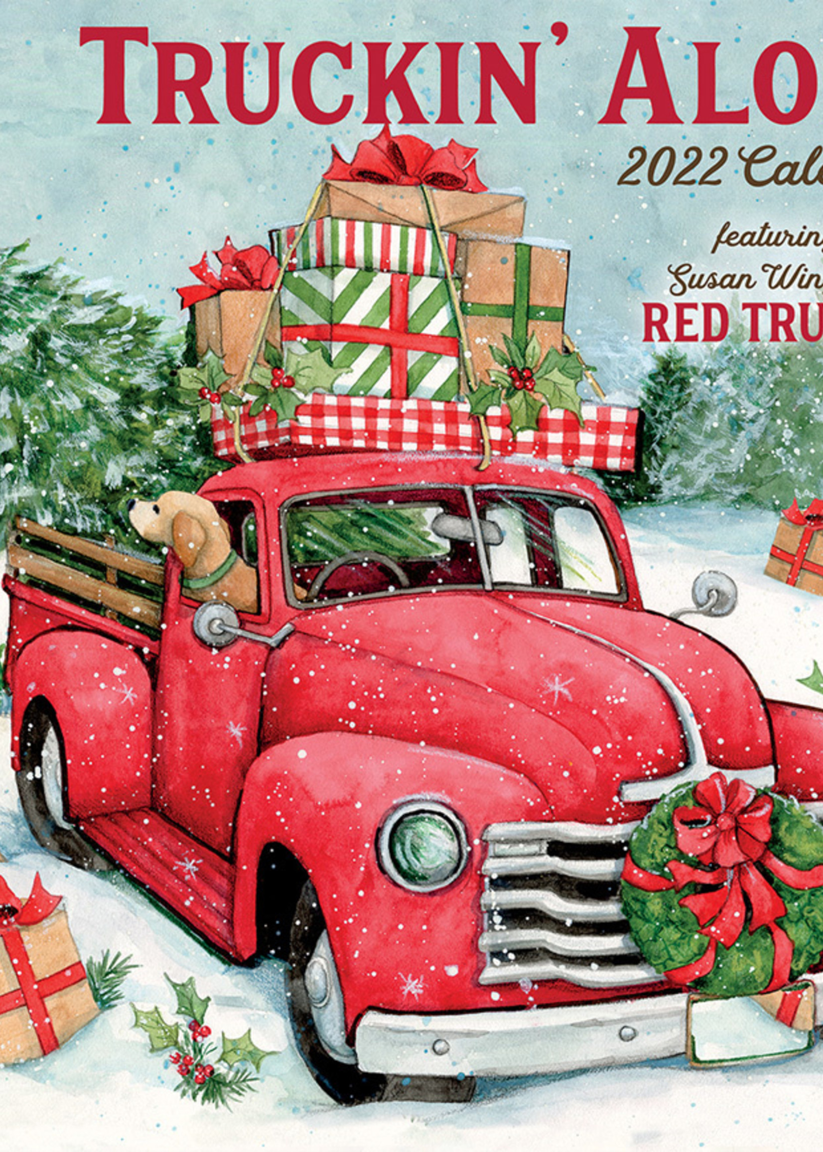 Truckin Along Calendar 2022