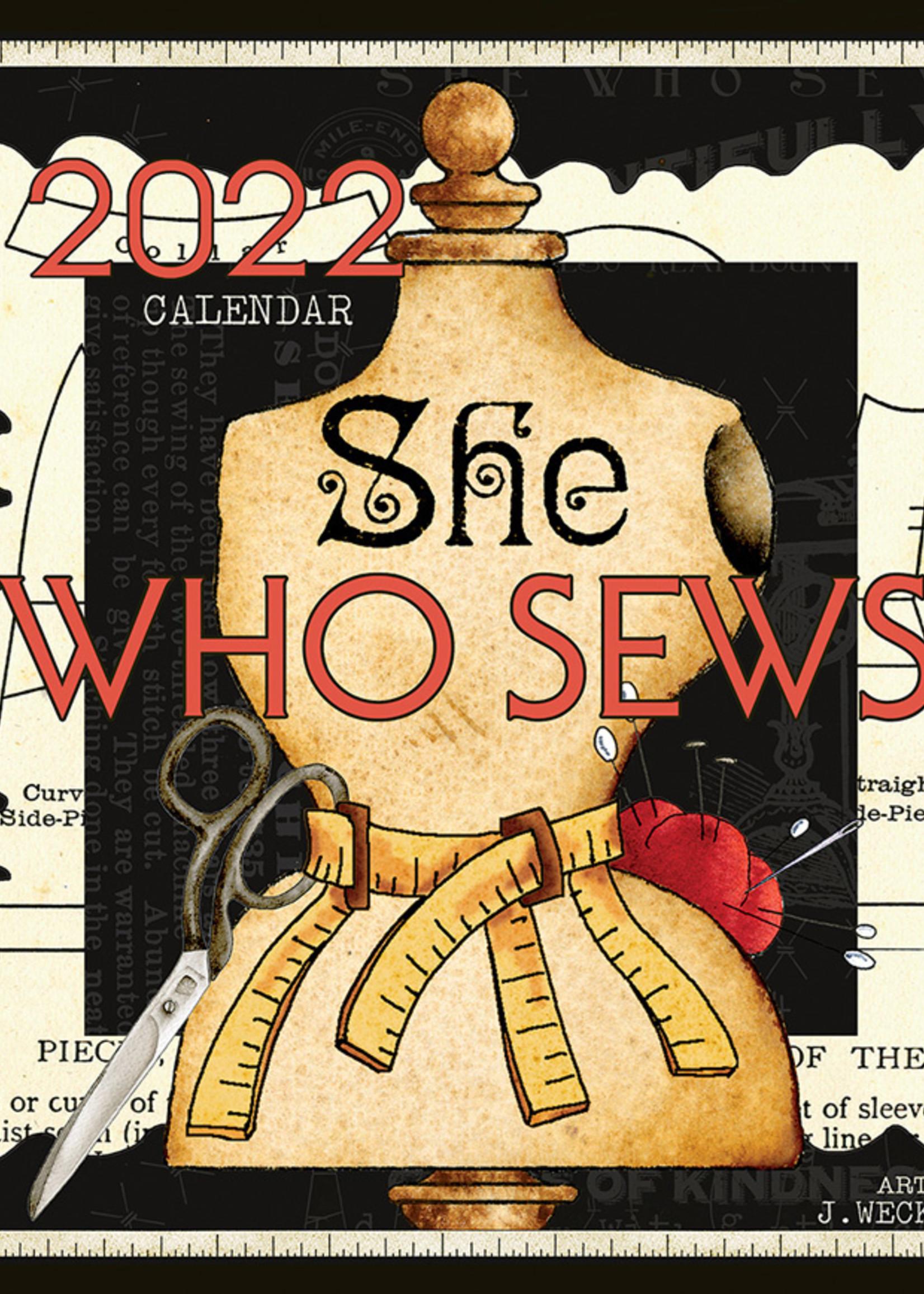 She who Sews calender 2022