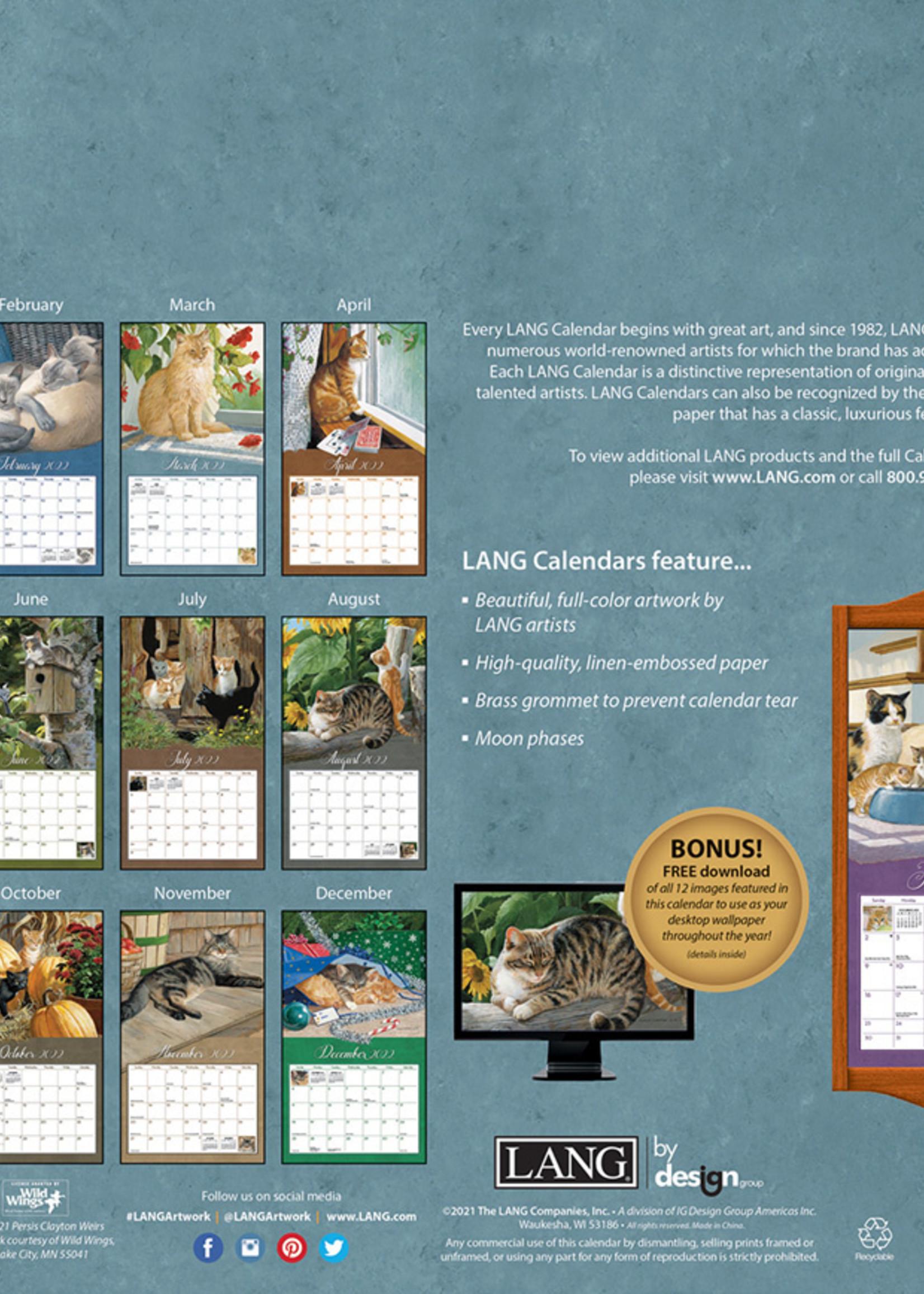 Love of cats Calendar 2022
