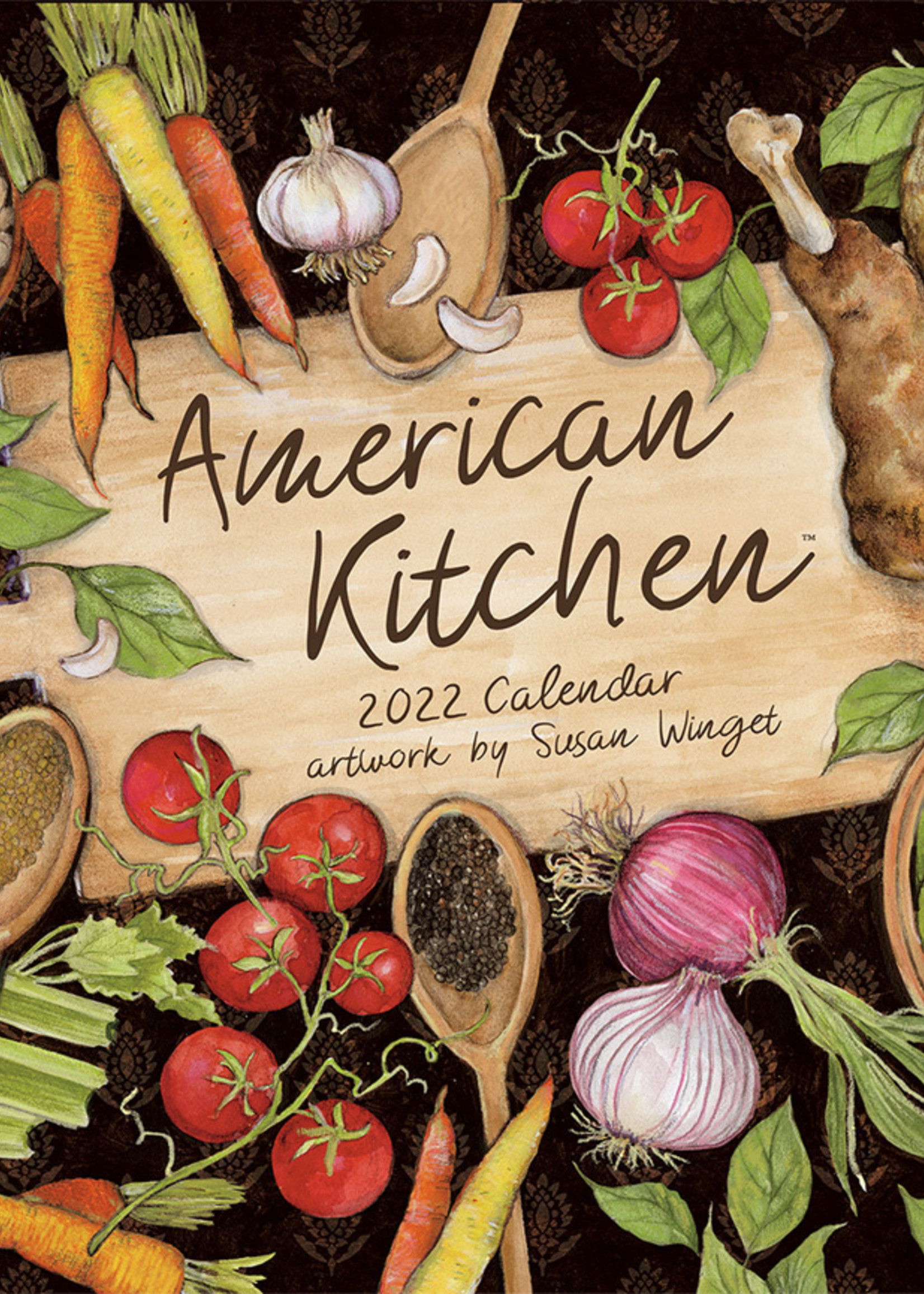American Kitchen Calendar 2022
