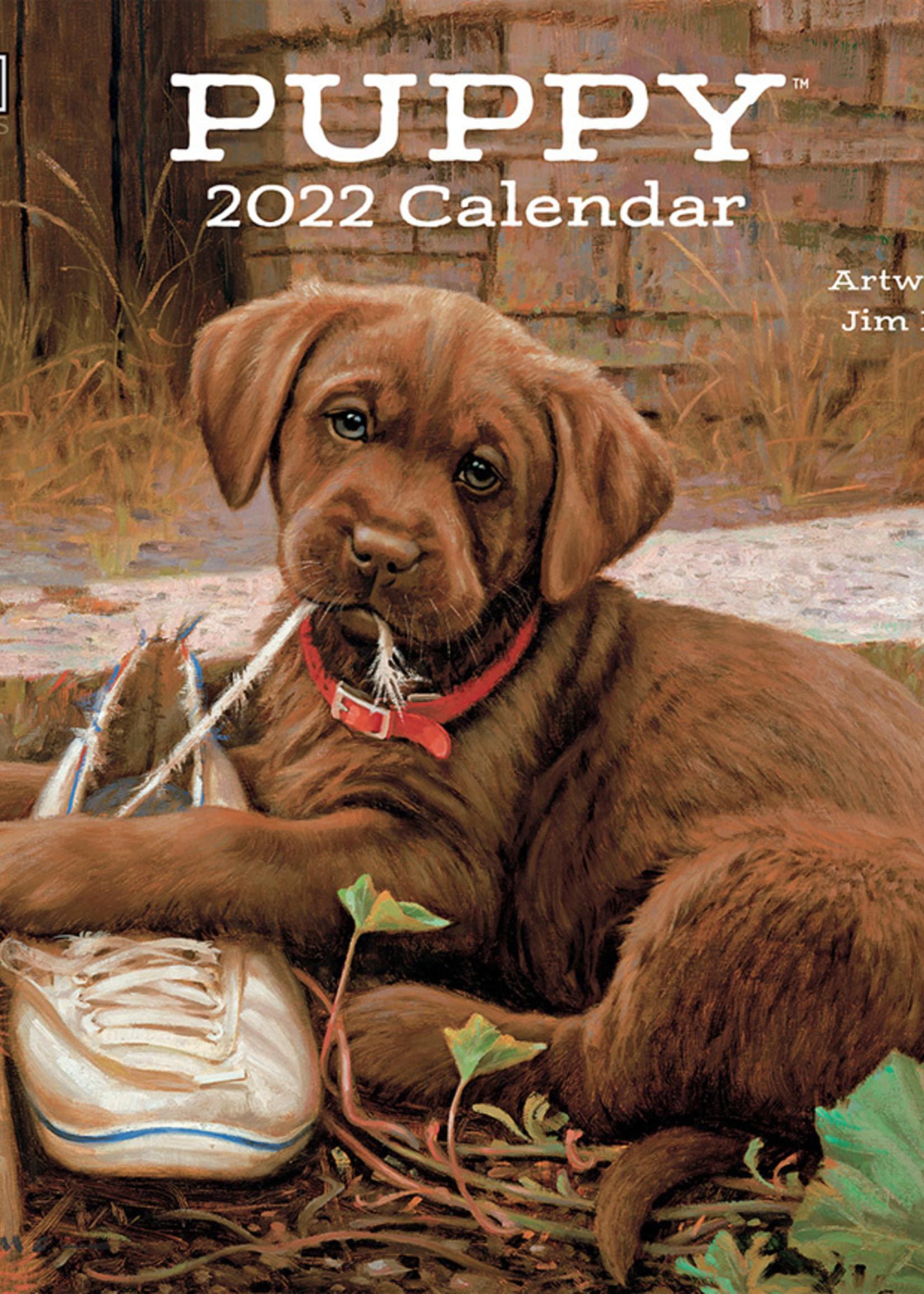 Puppy Calendar 2022