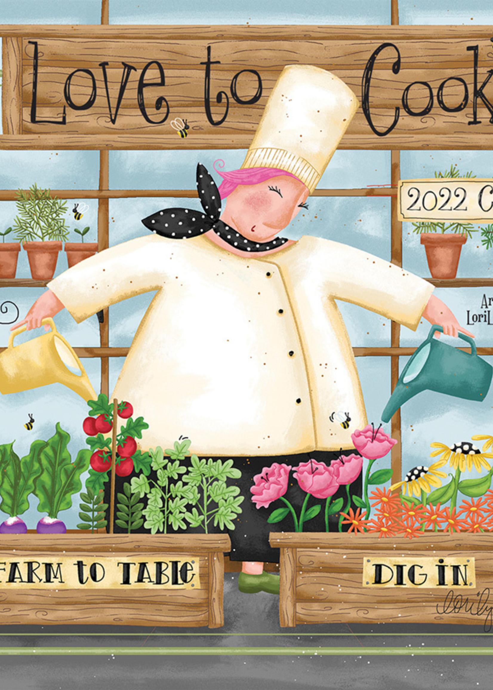 Love to Cook Calendar 2022