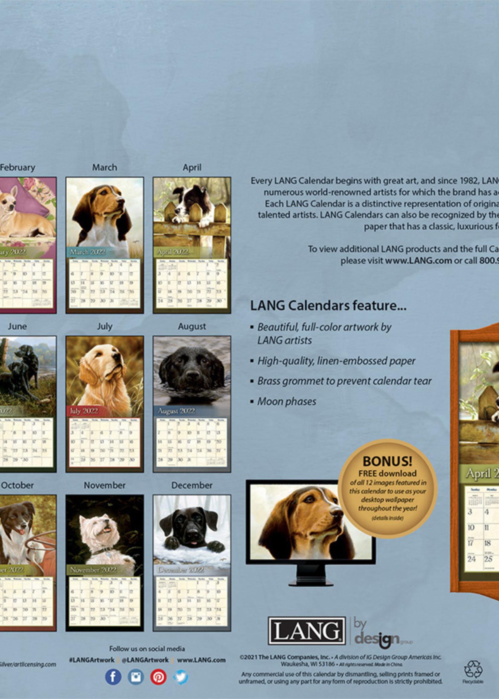 Love of Dogs Calendar 2022