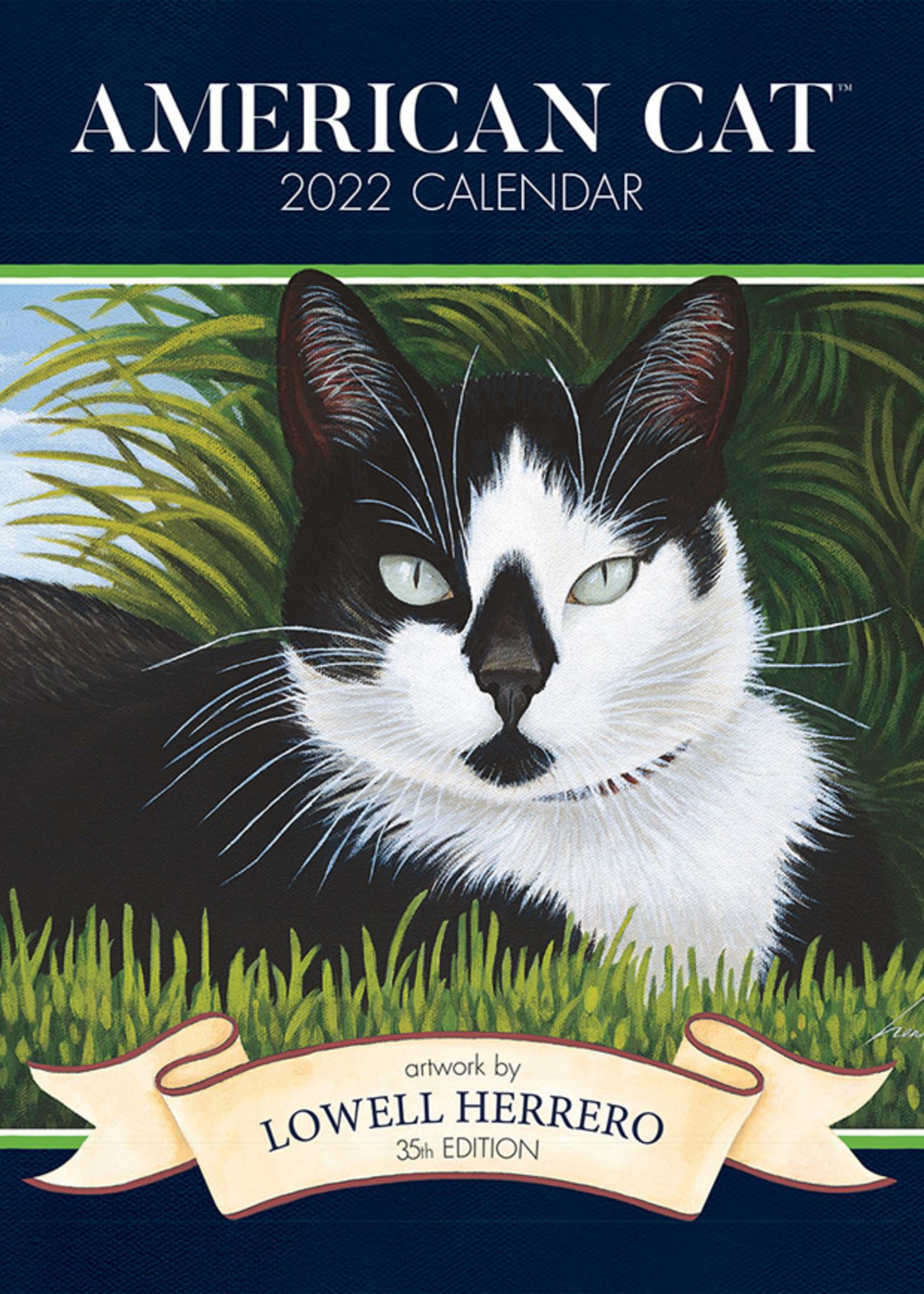 American Cat Calendar 2022