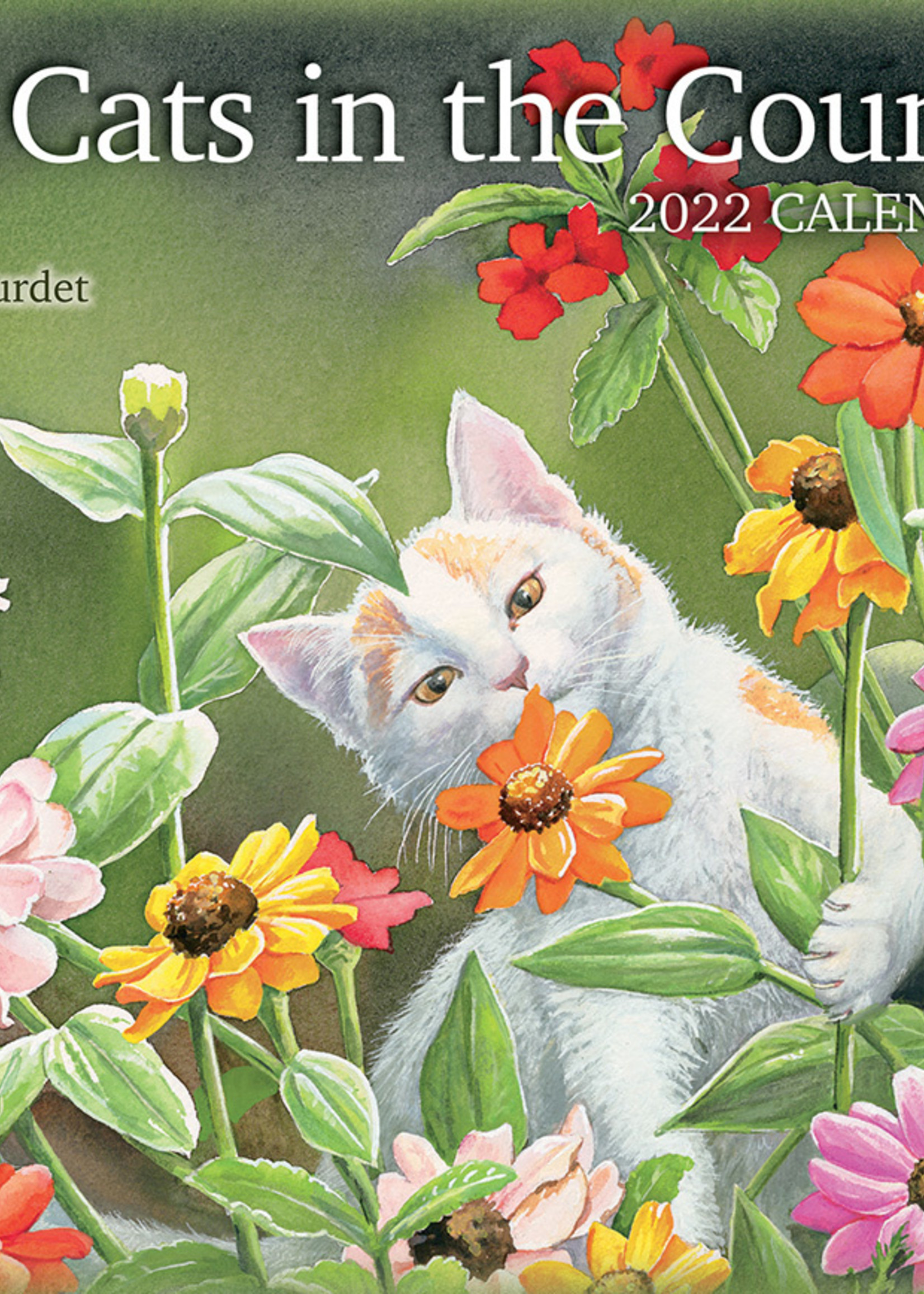 Cats in the Country Calendar 2022