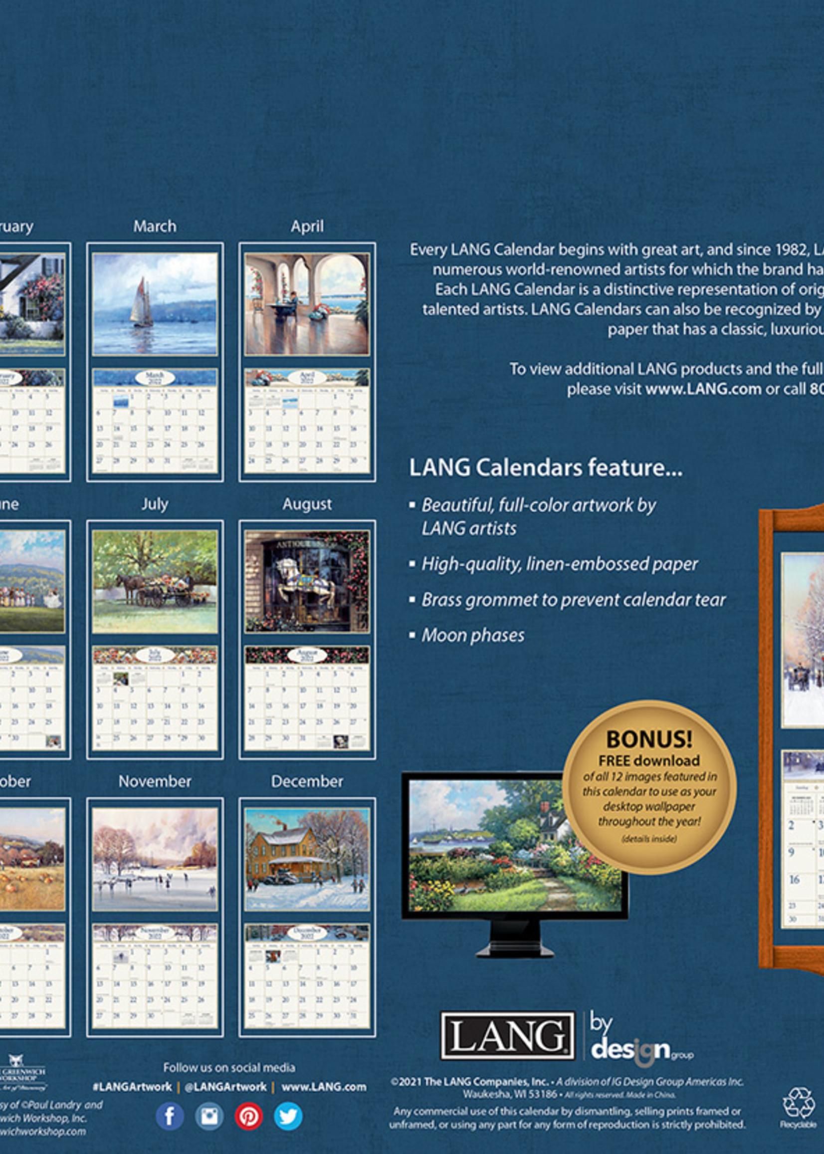 American Dream Calendar 2022