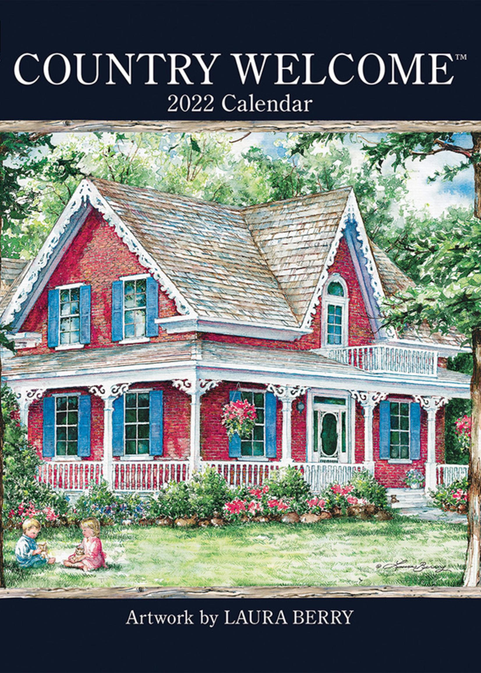 Country Welcome Calendar 2022