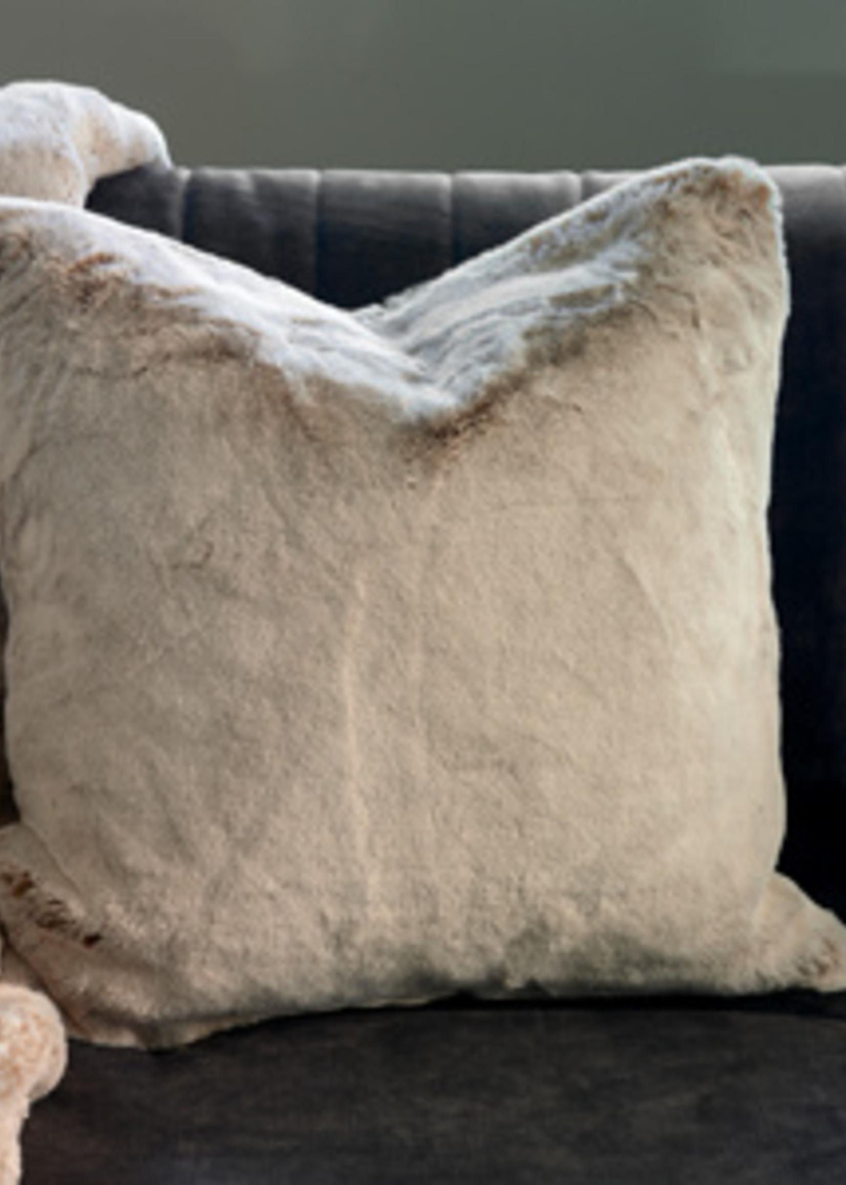 Riviera Maison Chill Faux Fur Pillow Cover 50x50