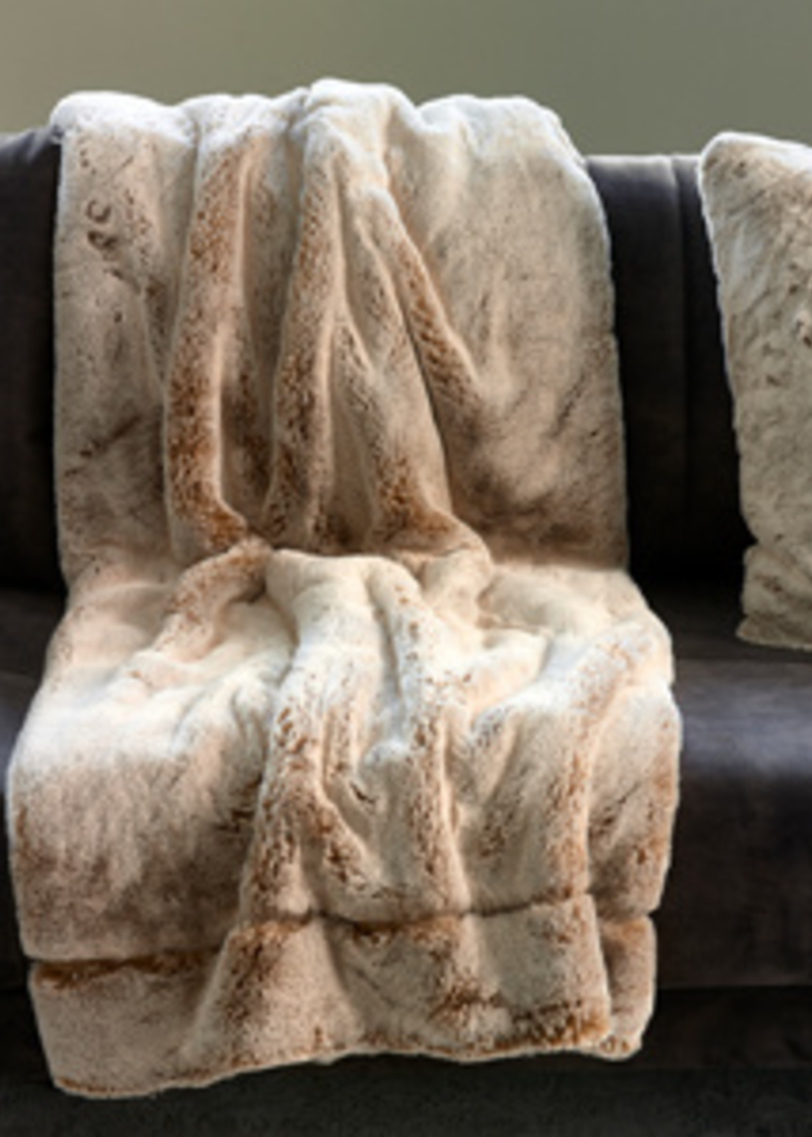 Riviera Maison Chill Faux Fur Throw 170x130