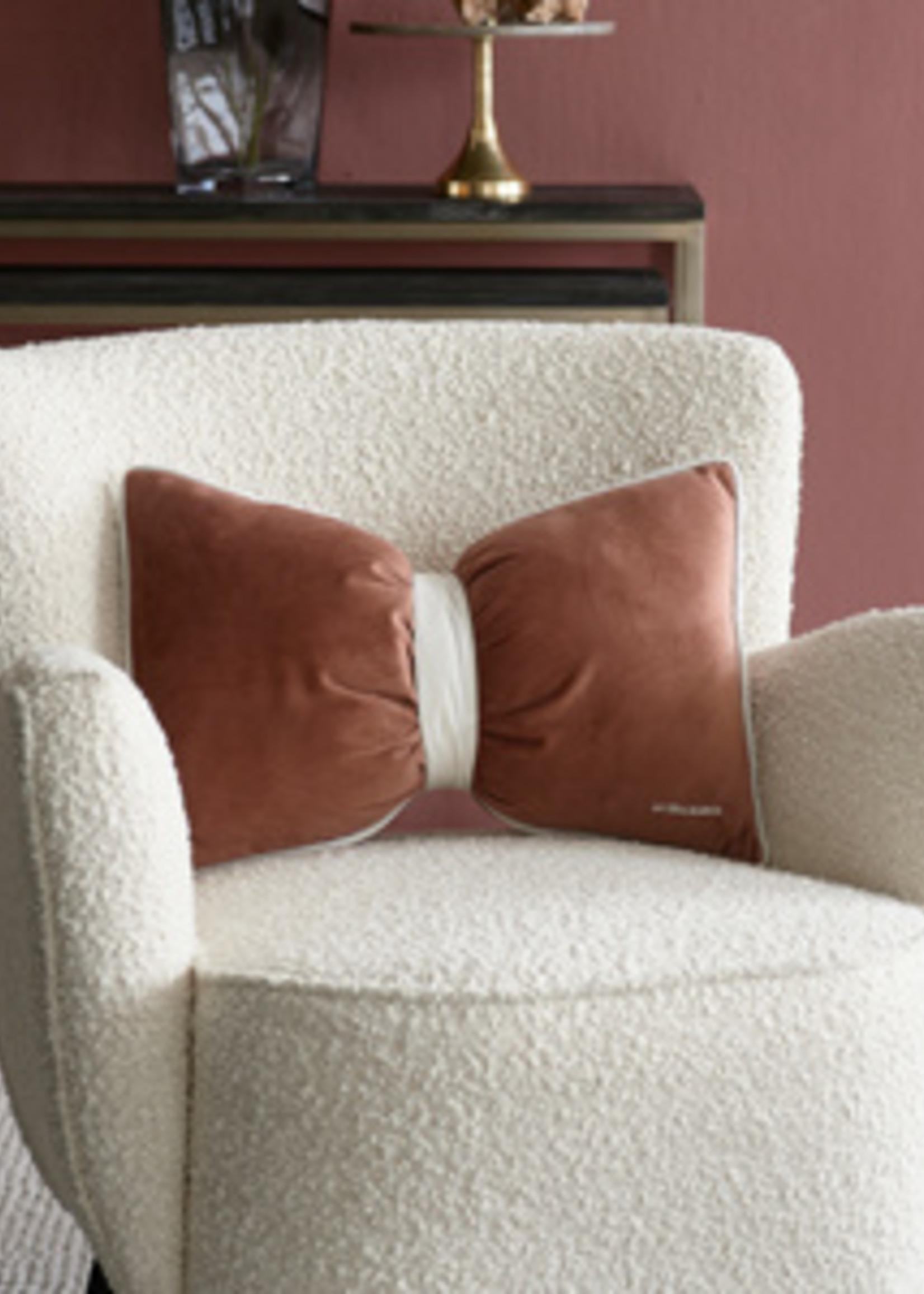 Riviera Maison Purity Bow Box Pillow 50x30