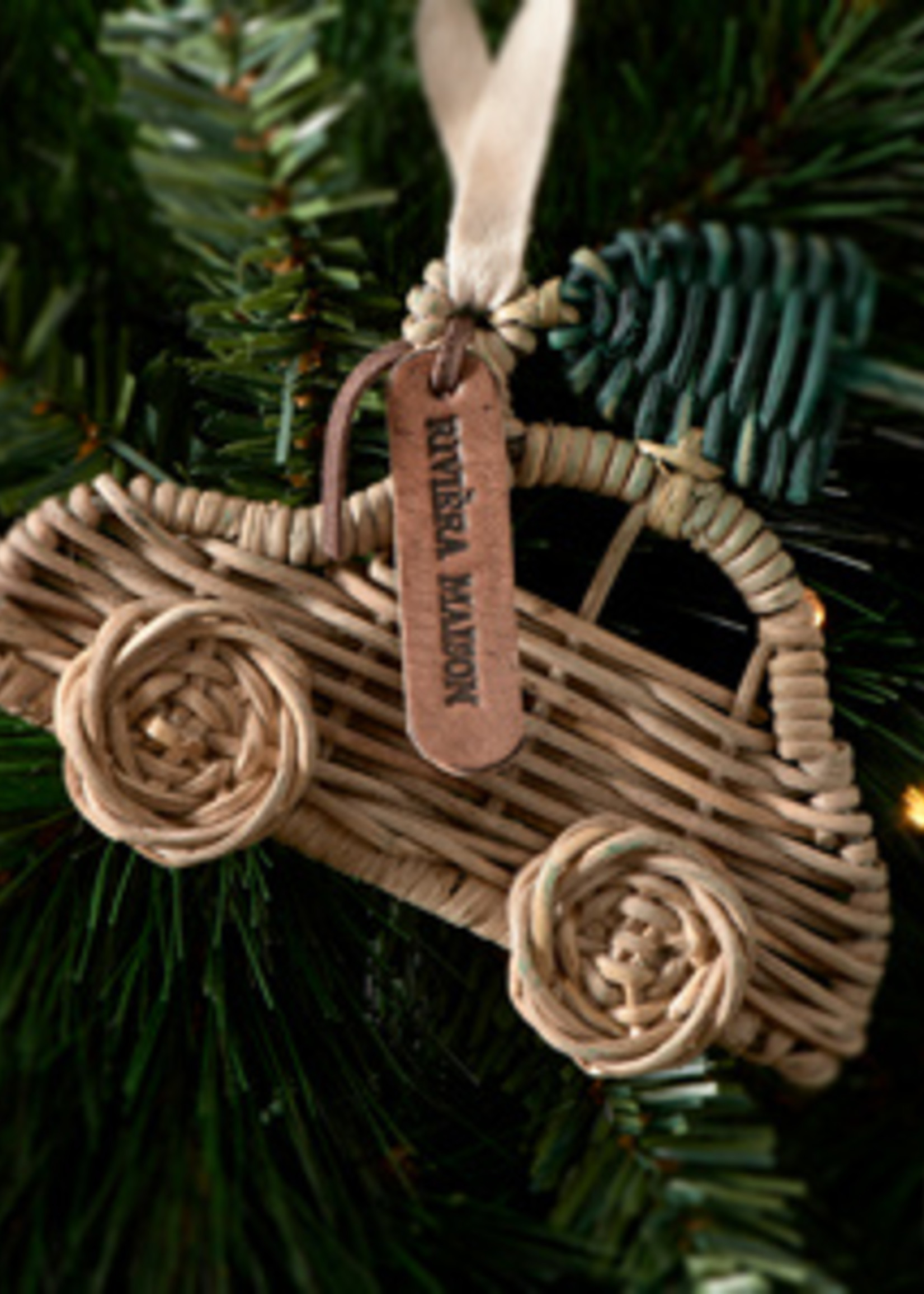 Riviera Maison Rustic Rattan Car Ornament