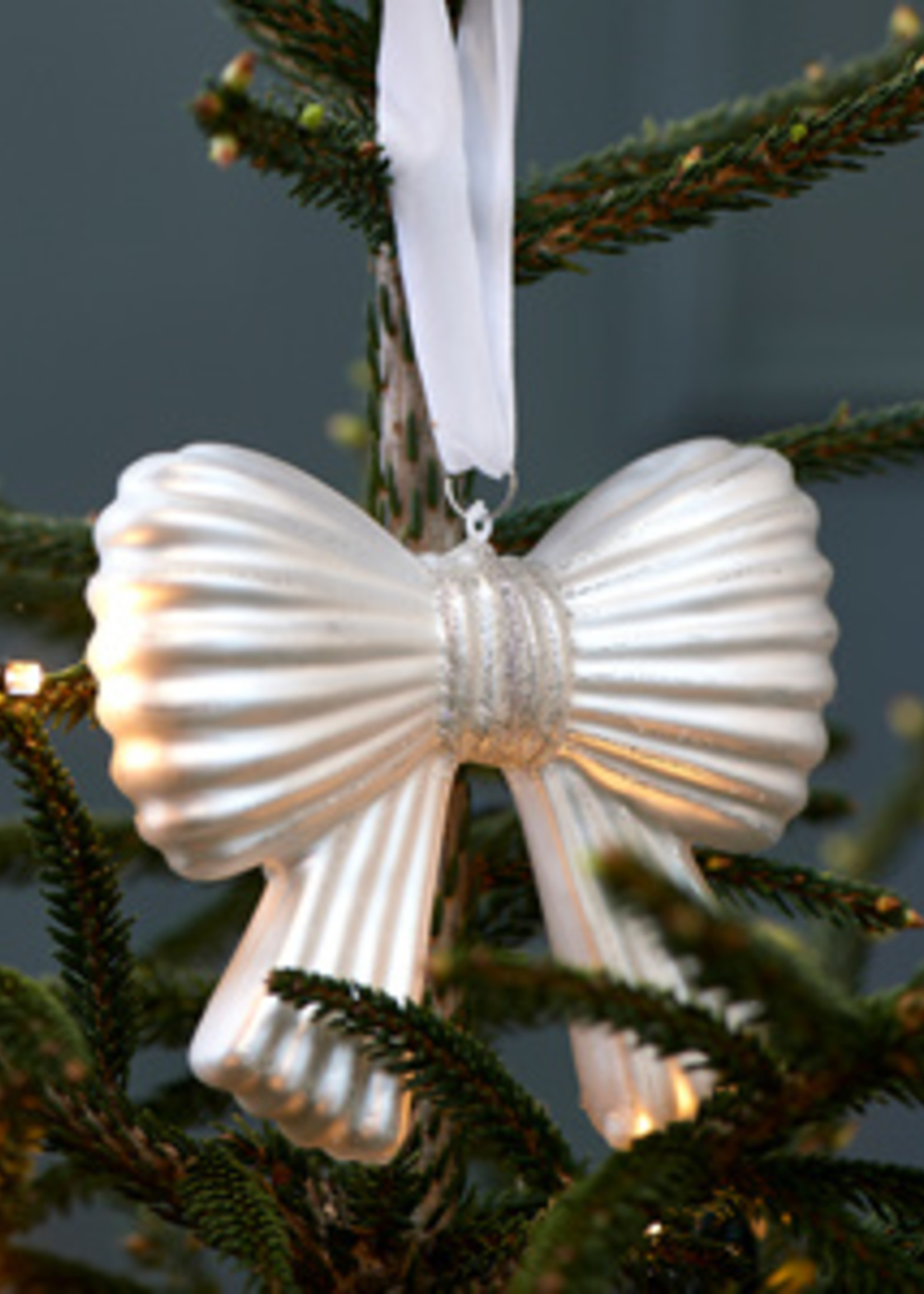 Riviera Maison Sparkling Bow Ornament M