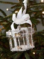 Riviera Maison Beads Present Ornament silver