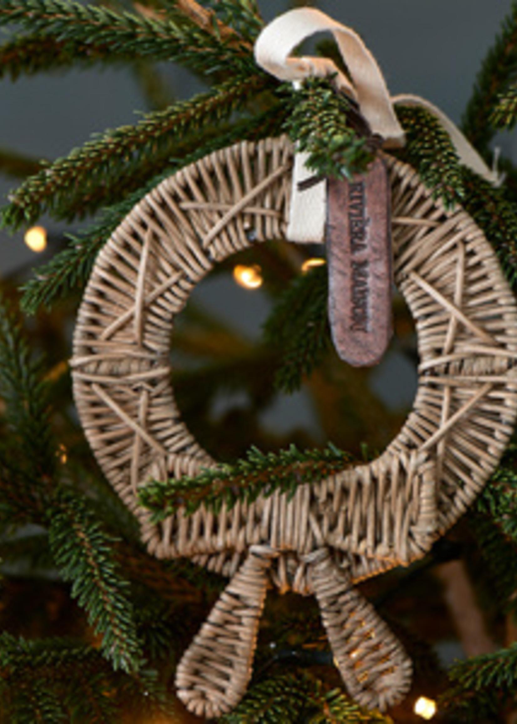 Riviera Maison Rustic Rattan Mini Christmas Wreath